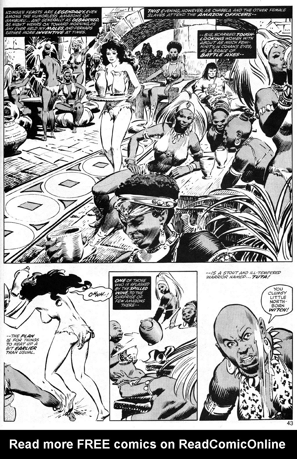 The Savage Sword Of Conan Issue #41 #42 - English 43