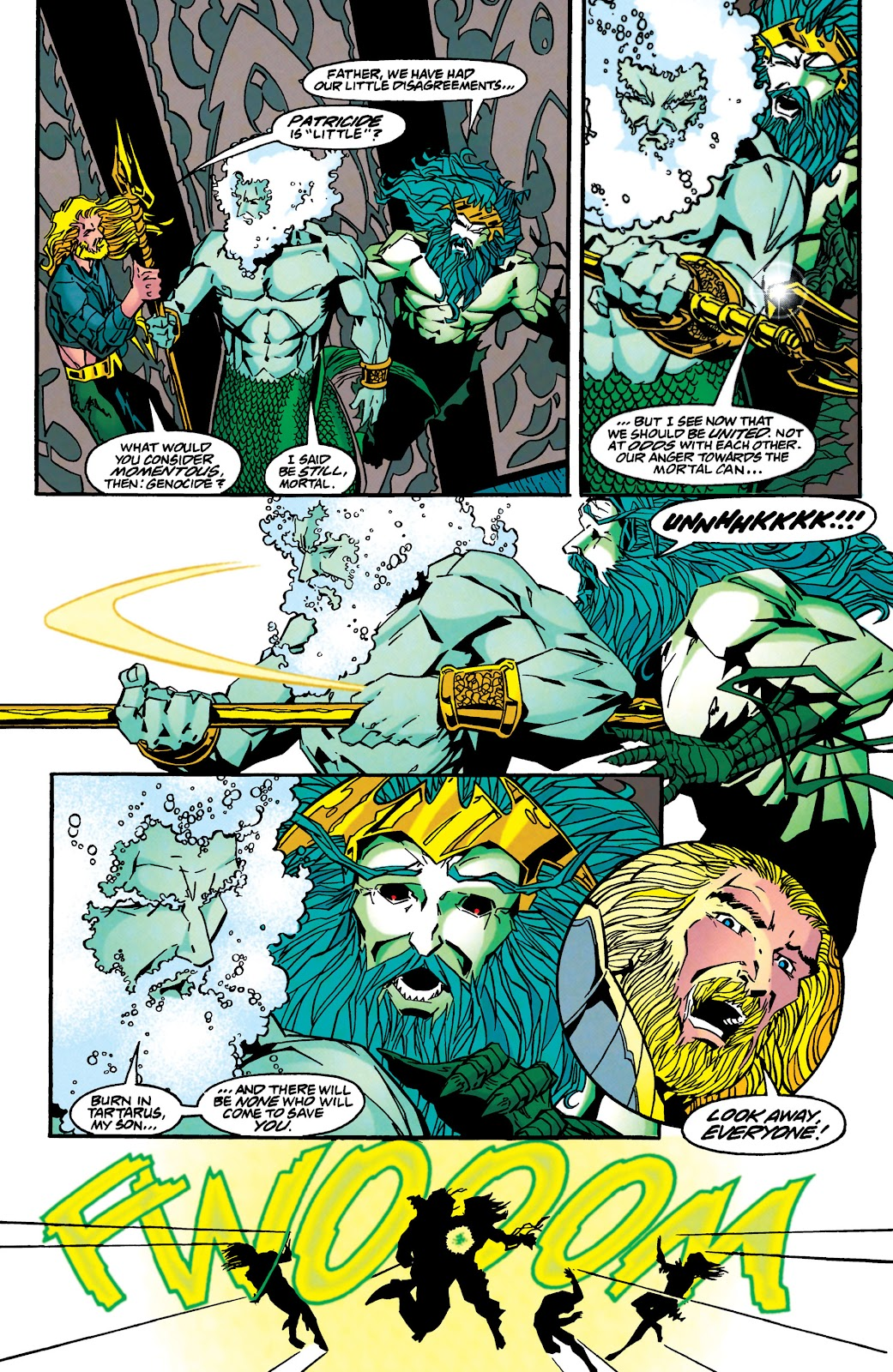 Aquaman (1994) Issue #46 #52 - English 19