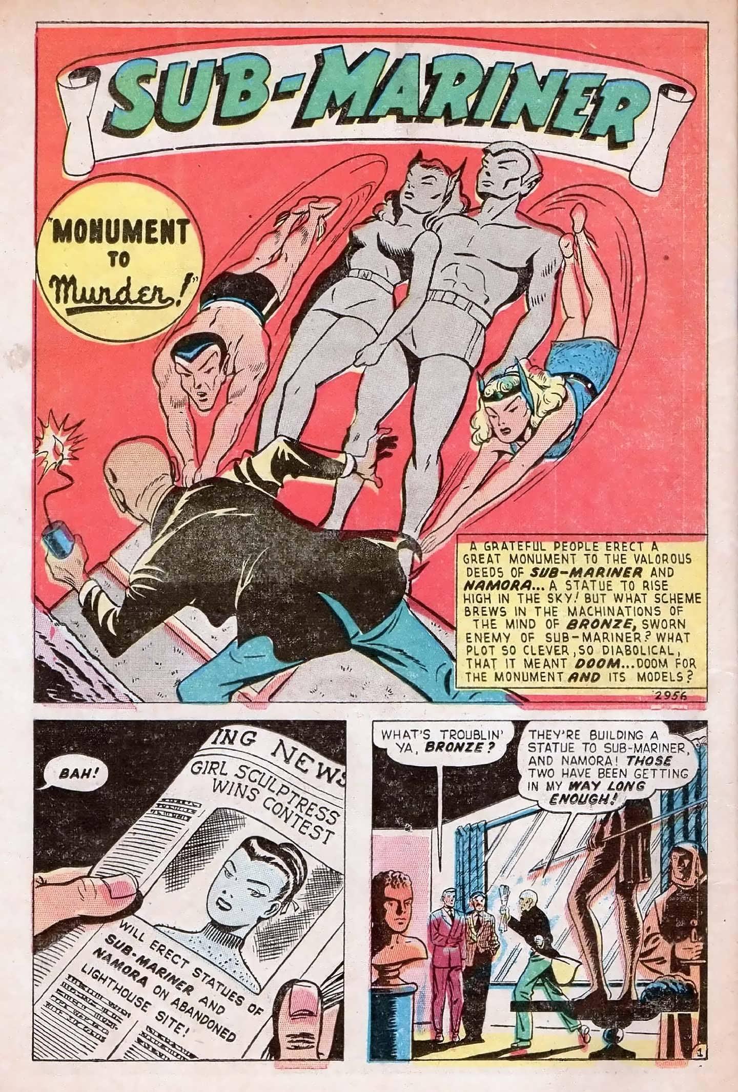 Sub-Mariner Comics #27 #27 - English 26