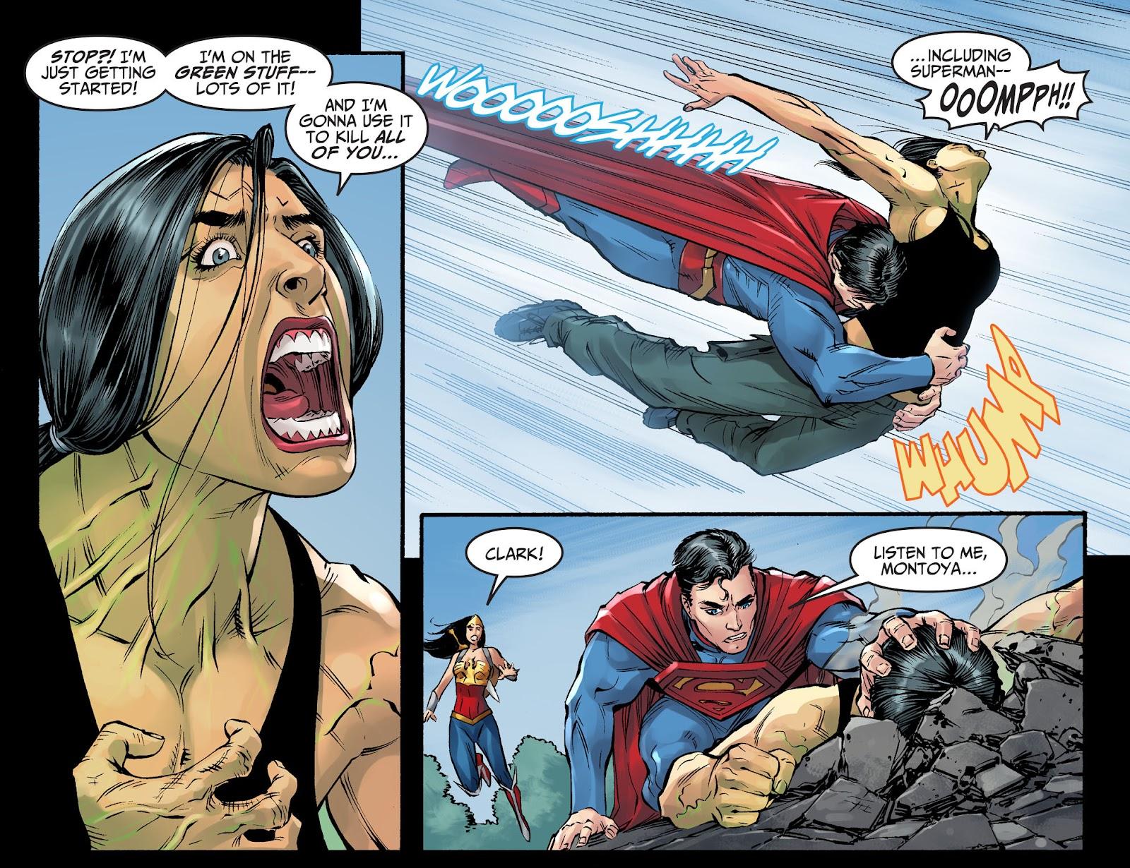 Injustice: Gods Among Us Year Four Issue #4 #5 - English 11
