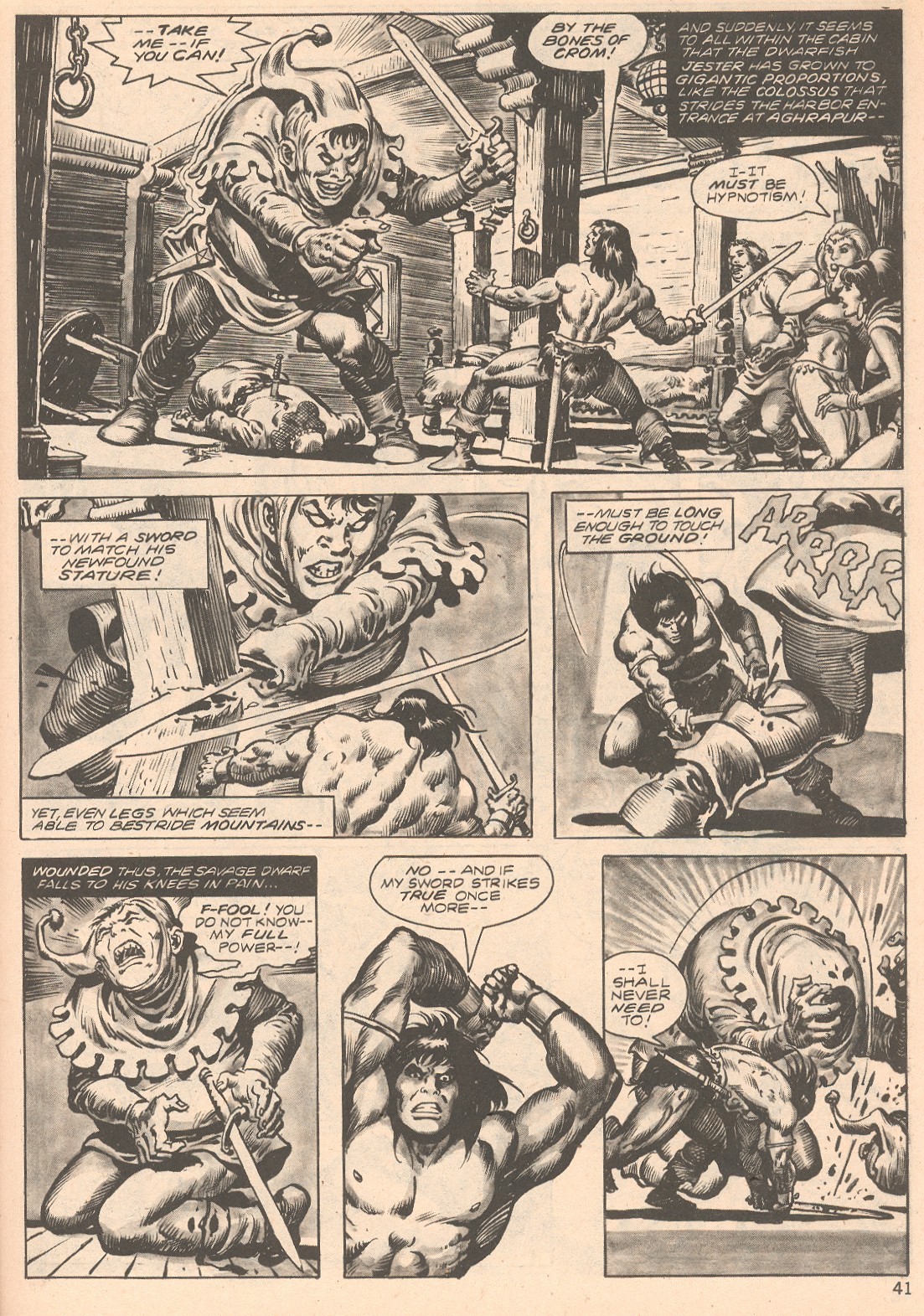 The Savage Sword Of Conan Issue #66 #67 - English 41