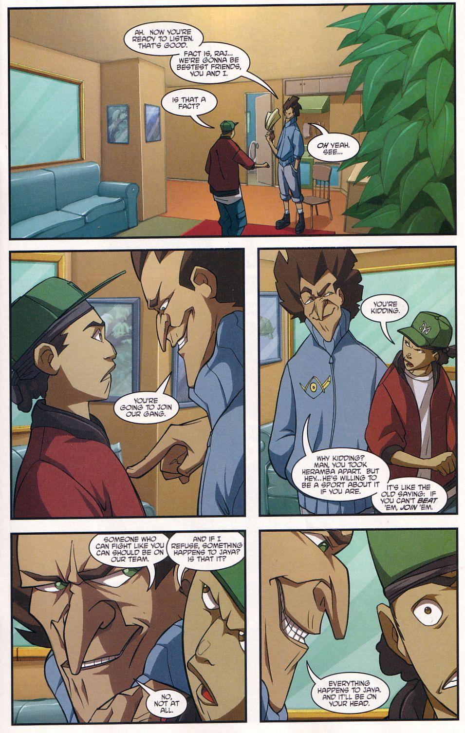 Teenage Mutant Ninja Turtles (2003) chap 7 pic 13