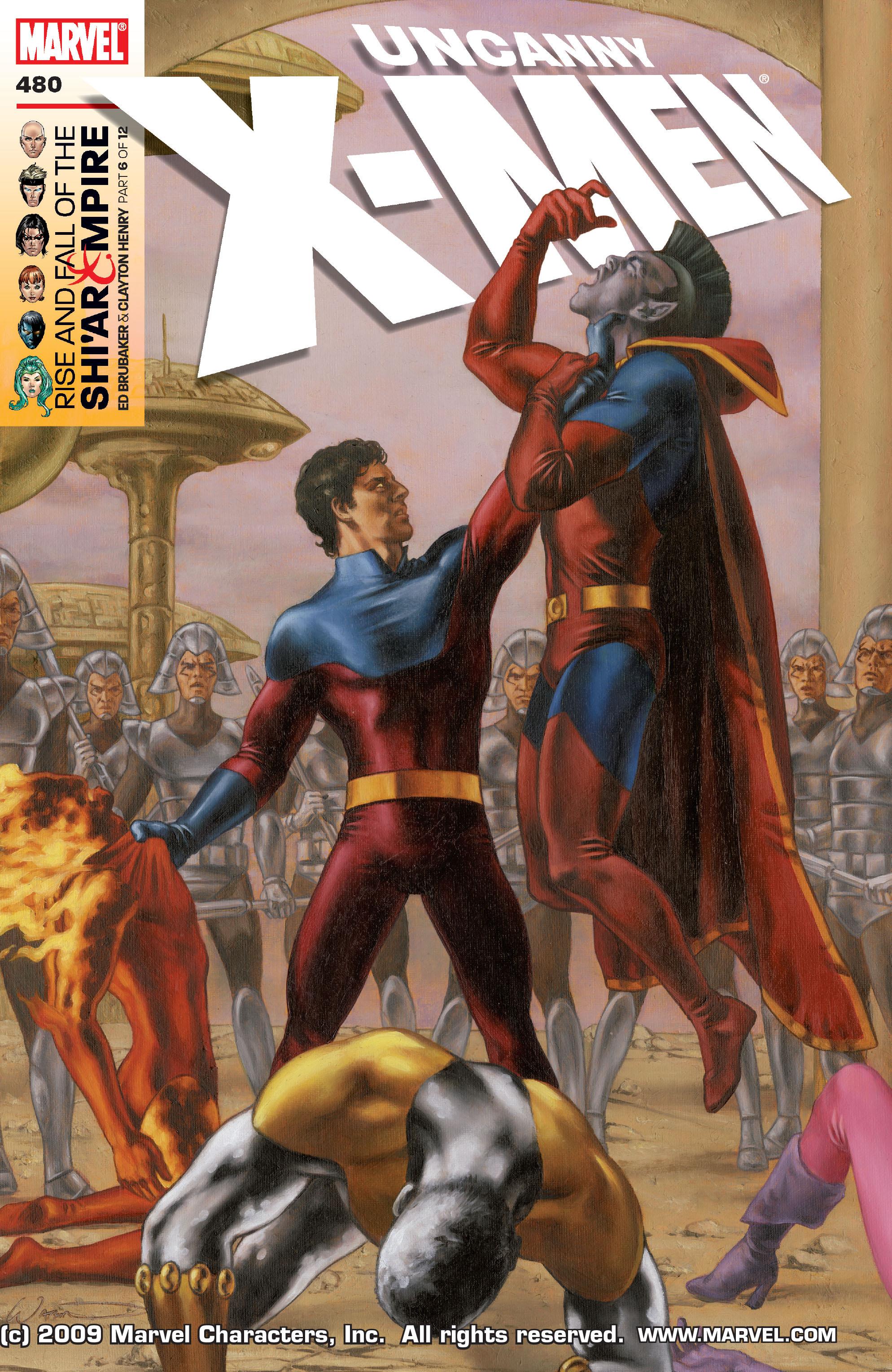 Uncanny X-Men (1963) 480 Page 1
