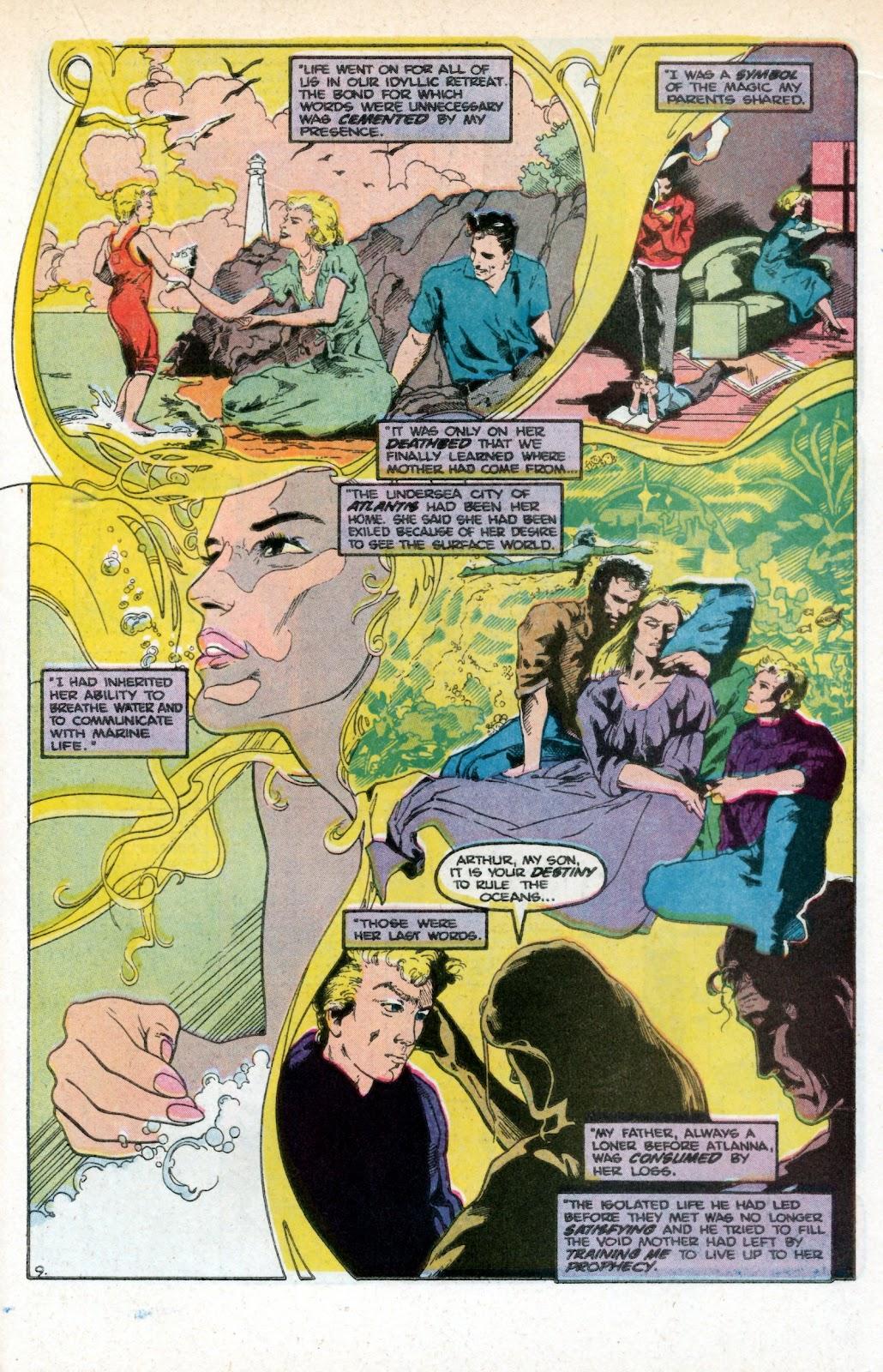 Aquaman (1986) Issue #3 #3 - English 15
