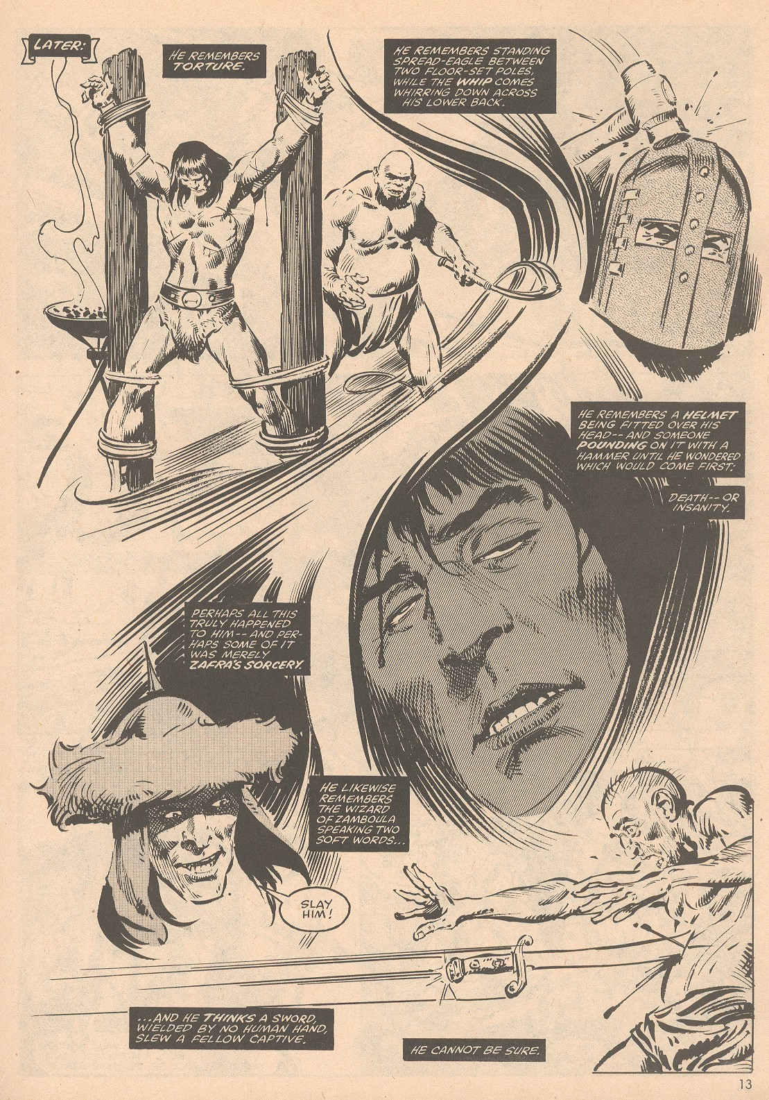 The Savage Sword Of Conan Issue #58 #59 - English 14