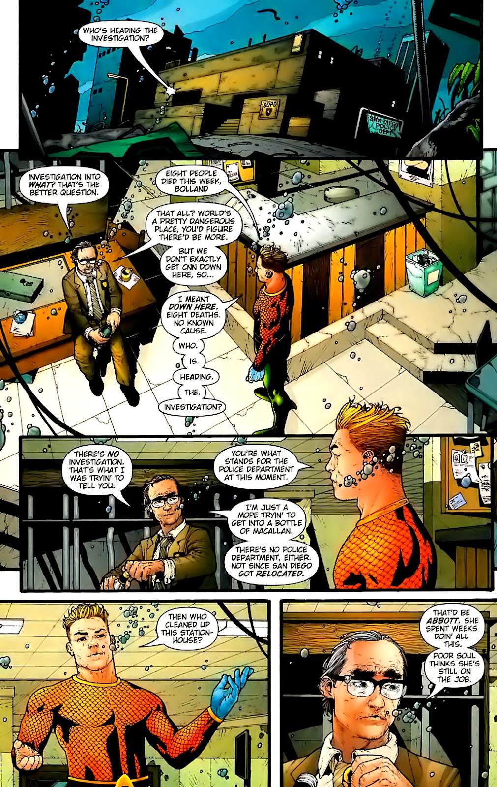 Aquaman (2003) Issue #30 #30 - English 6