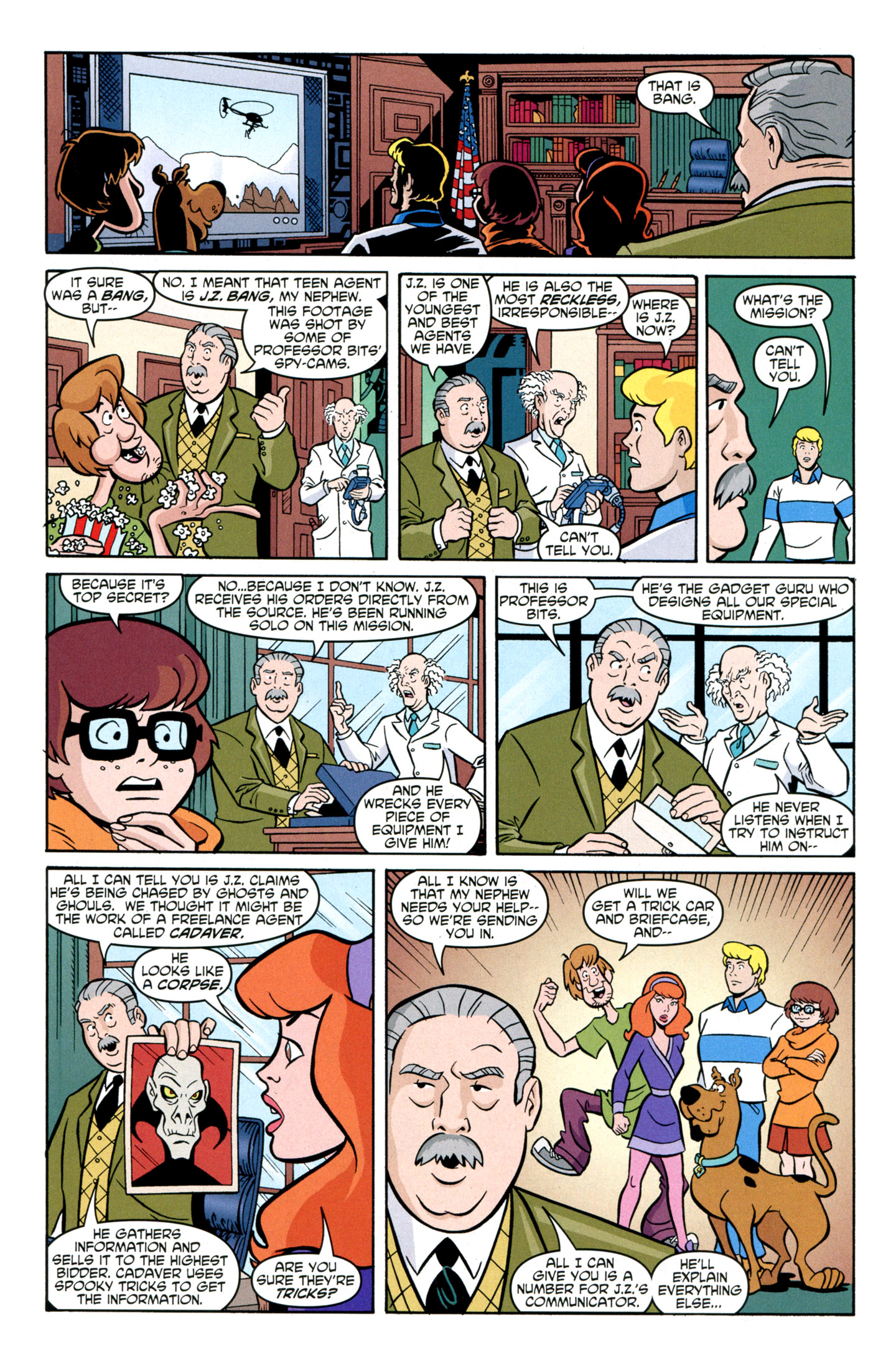 Read online Scooby-Doo: Where Are You? comic -  Issue #29 - 20