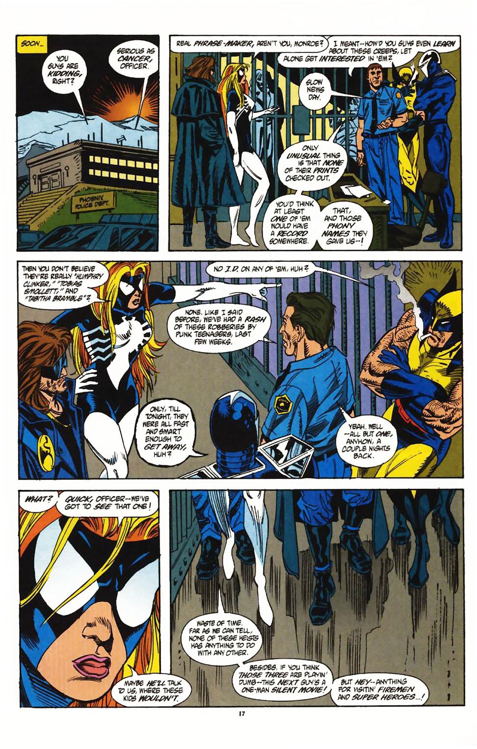 Read online Secret Defenders comic -  Issue #1 - 14