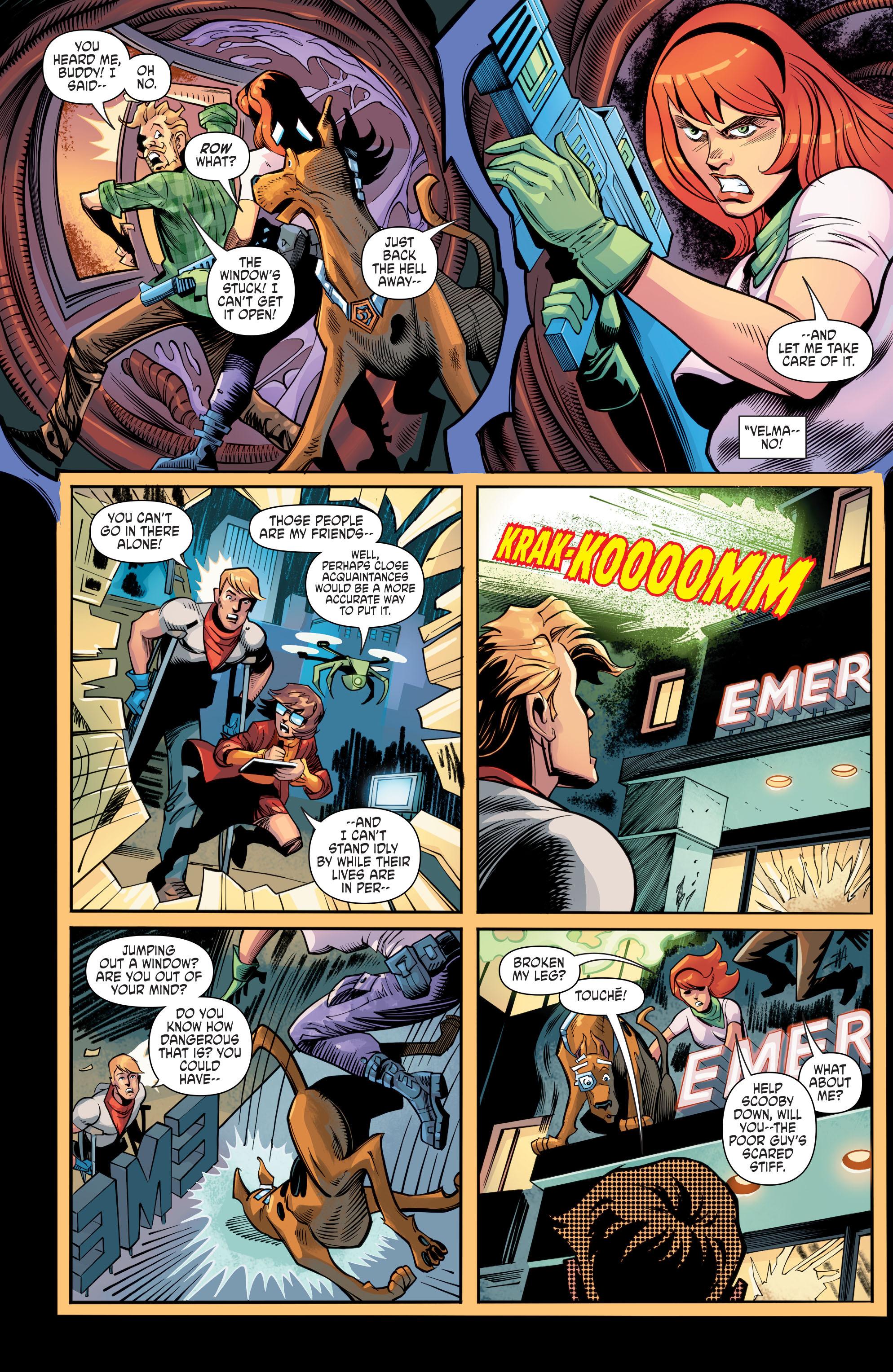 Read online Scooby Apocalypse comic -  Issue #8 - 22