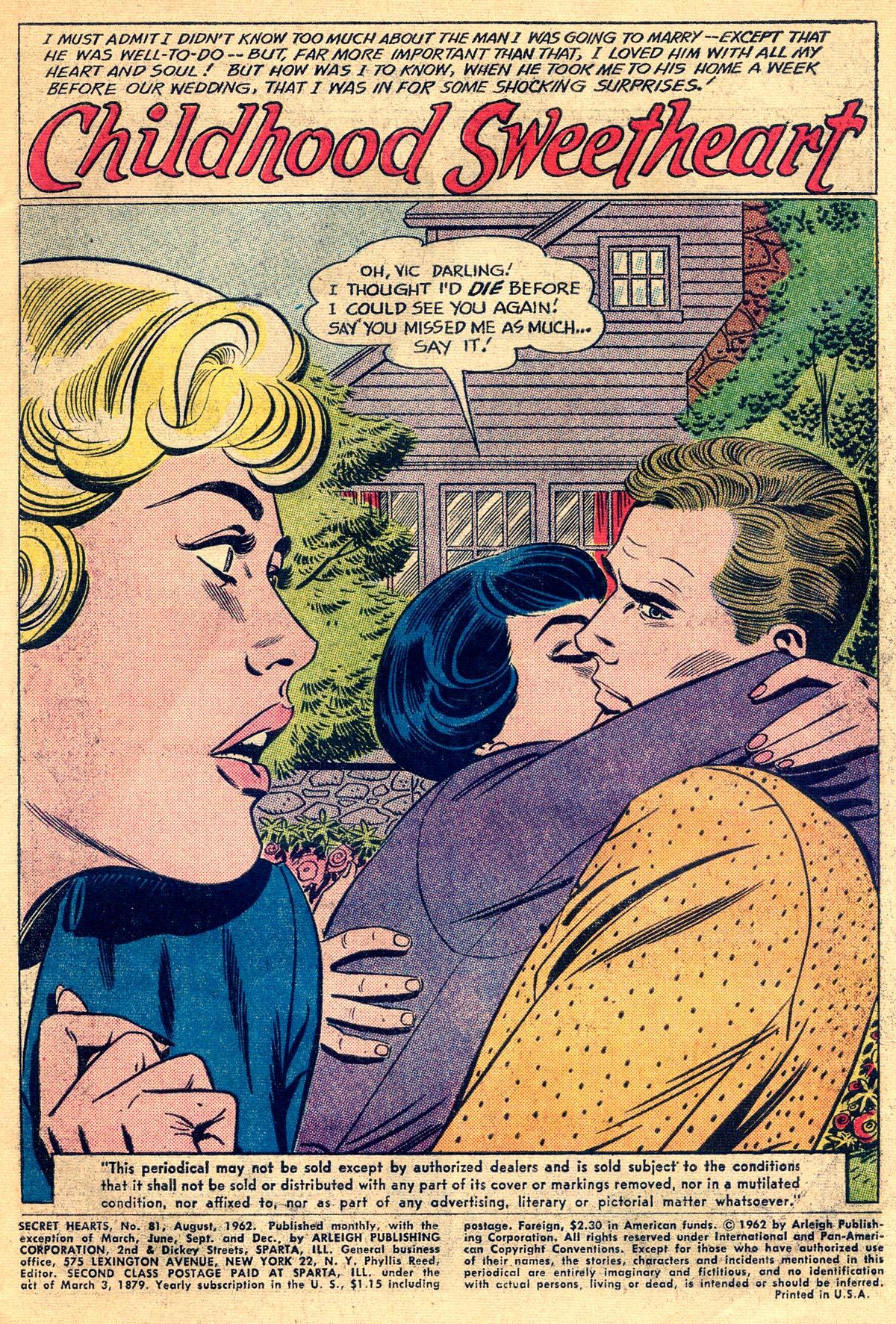 Read online Secret Hearts comic -  Issue #81 - 3