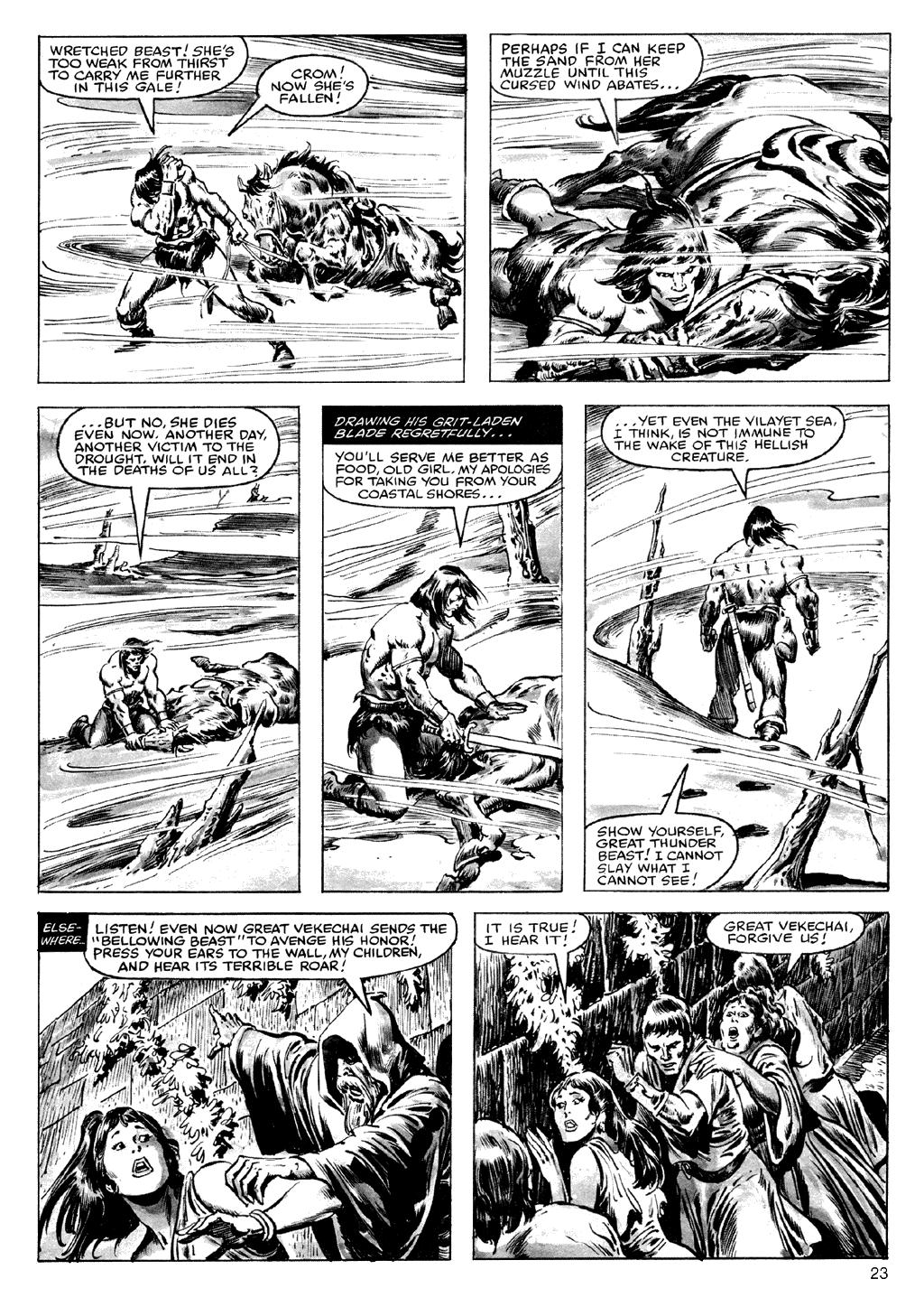 Of Conan  #164 - English 23