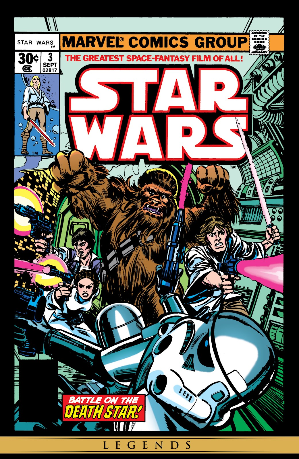 Star Wars (1977) Issue #3 #6 - English 1