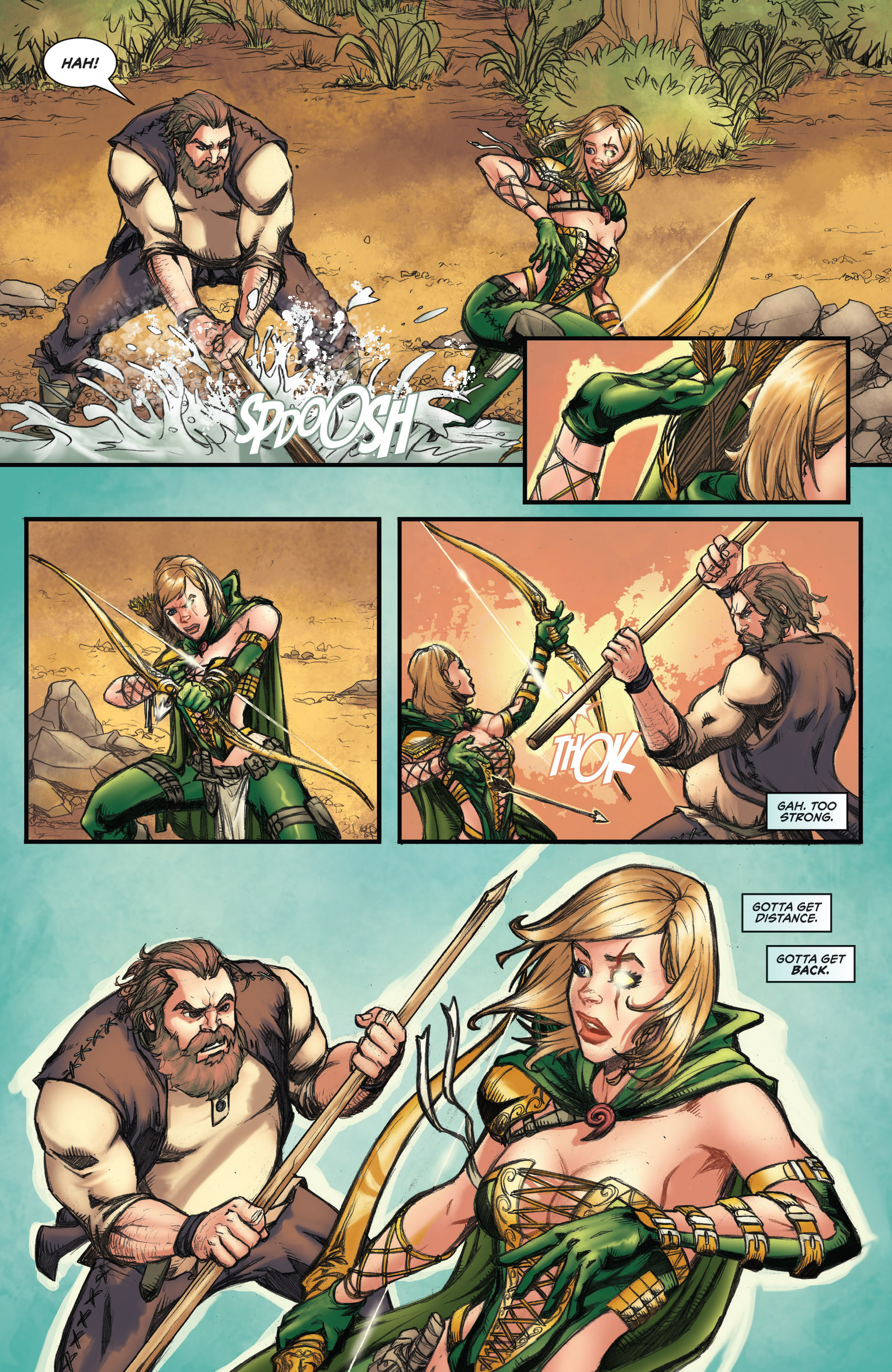 Read online Grimm Fairy Tales presents Robyn Hood (2012) comic -  Issue #3 - 5