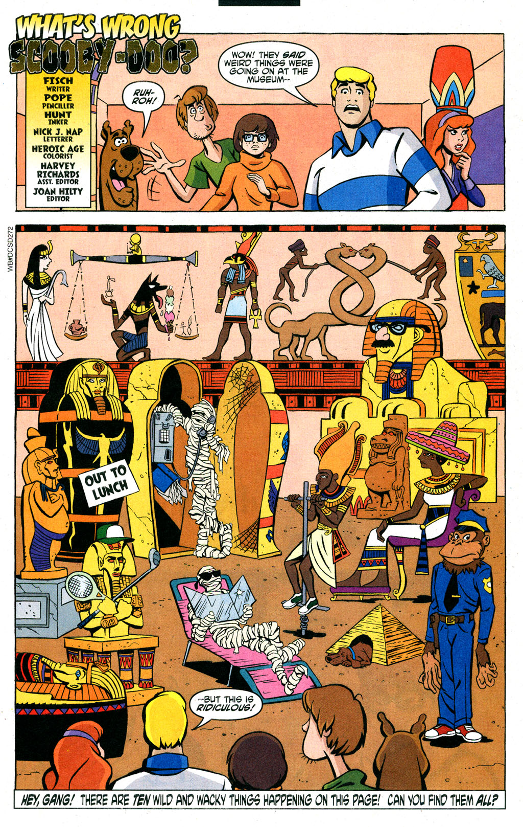 Read online Scooby-Doo (1997) comic -  Issue #89 - 12
