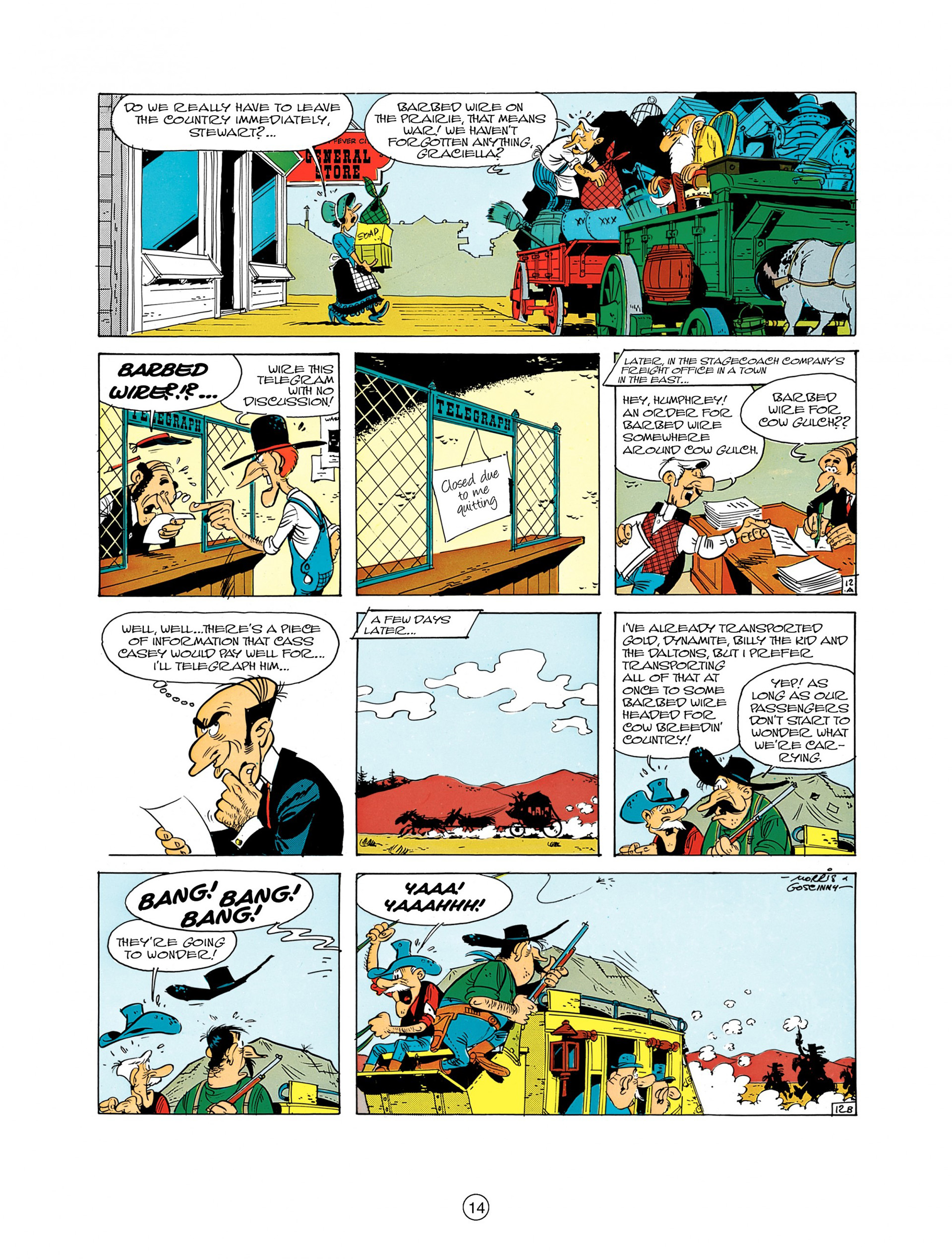A Lucky Luke Adventure 7 Page 13