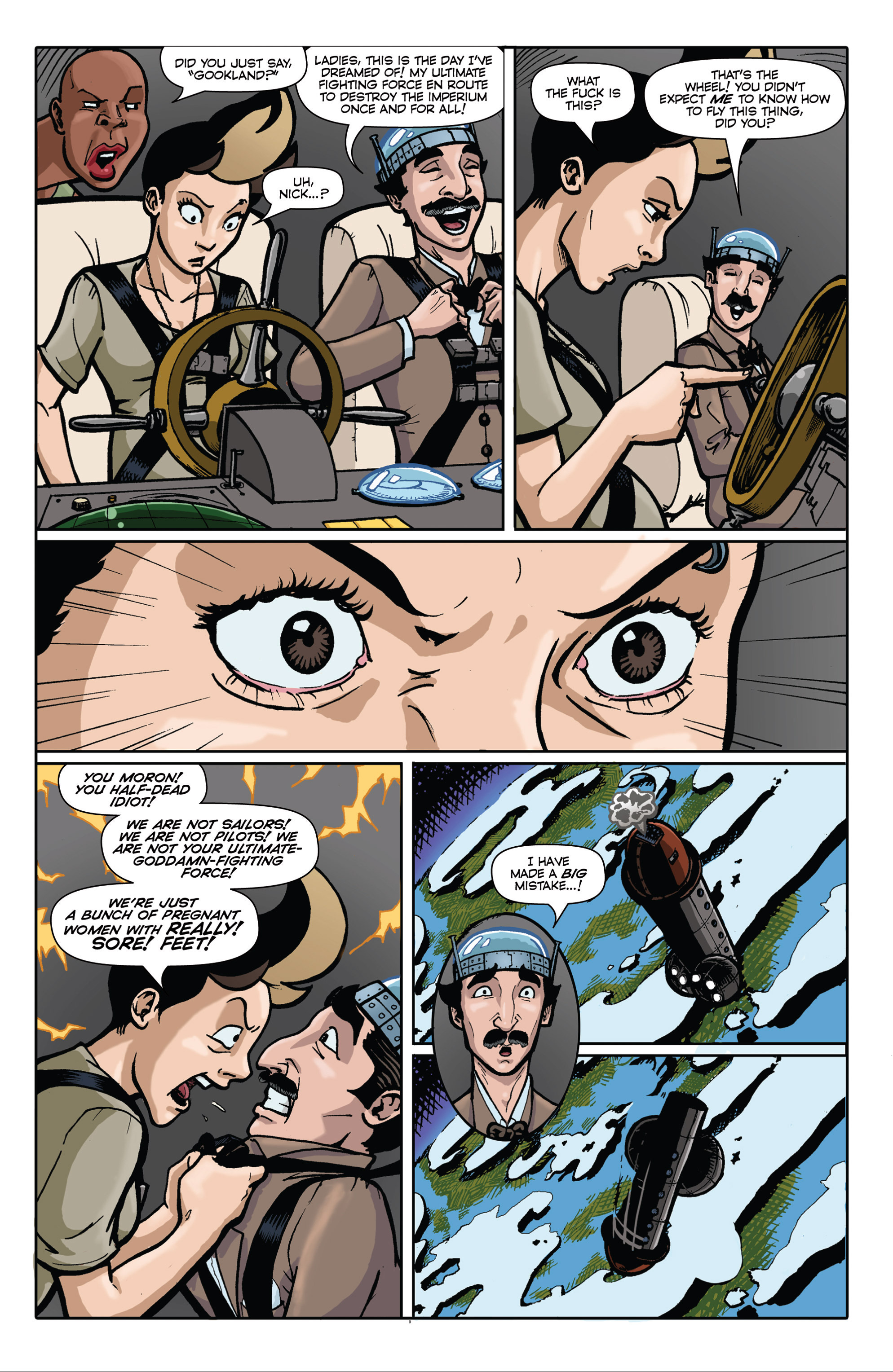 Read online Pregnant Bitches of War comic -  Issue #3 - 19