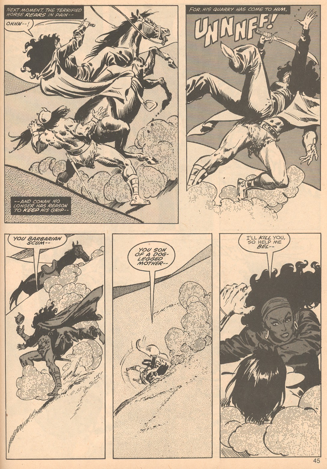 The Savage Sword Of Conan Issue #56 #57 - English 45