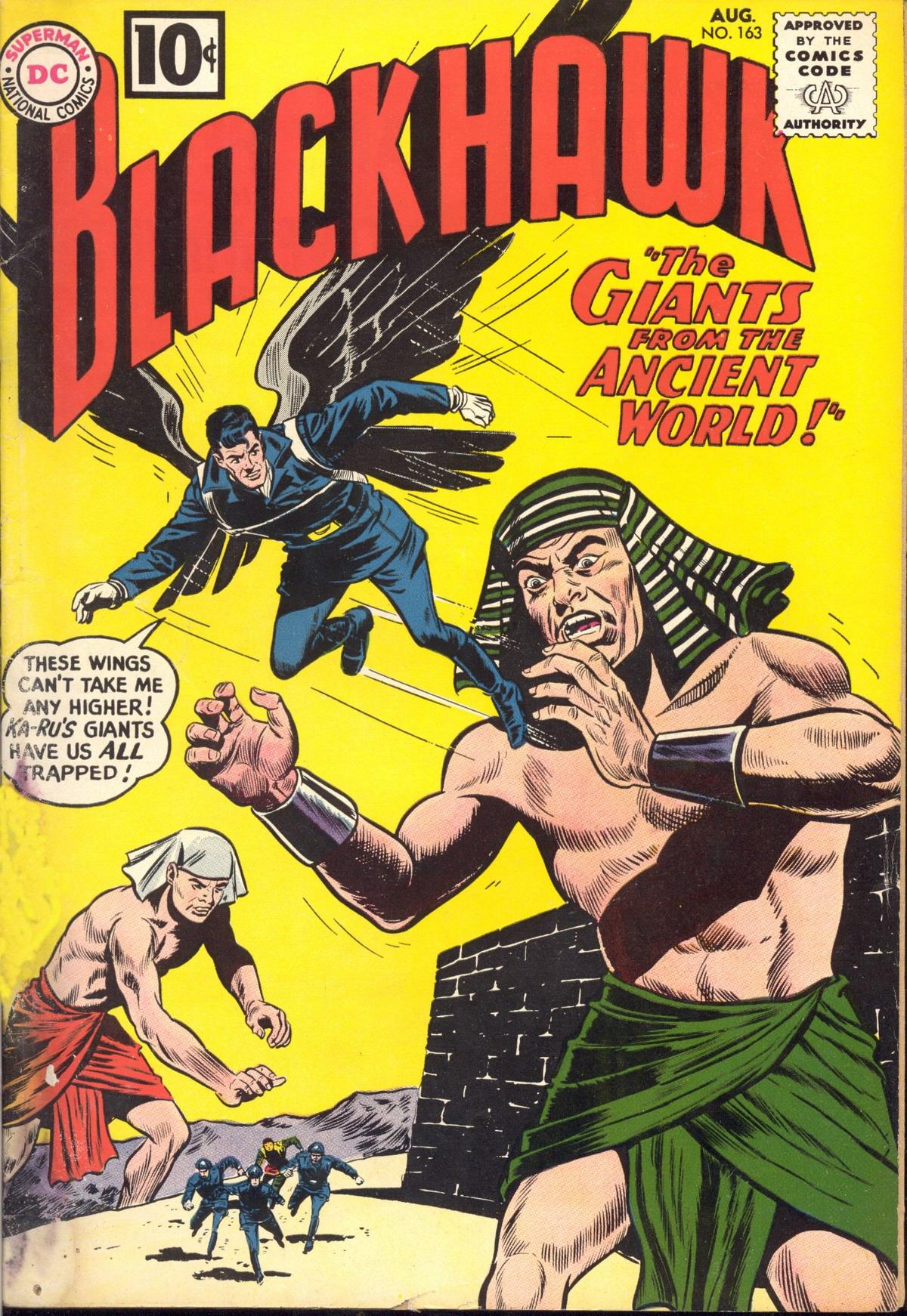 Blackhawk (1957) 163 Page 1
