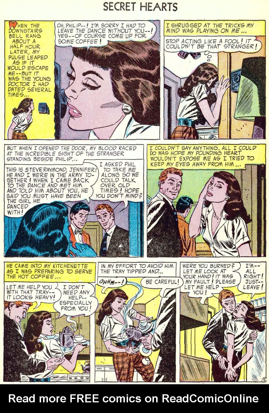 Read online Secret Hearts comic -  Issue #22 - 30