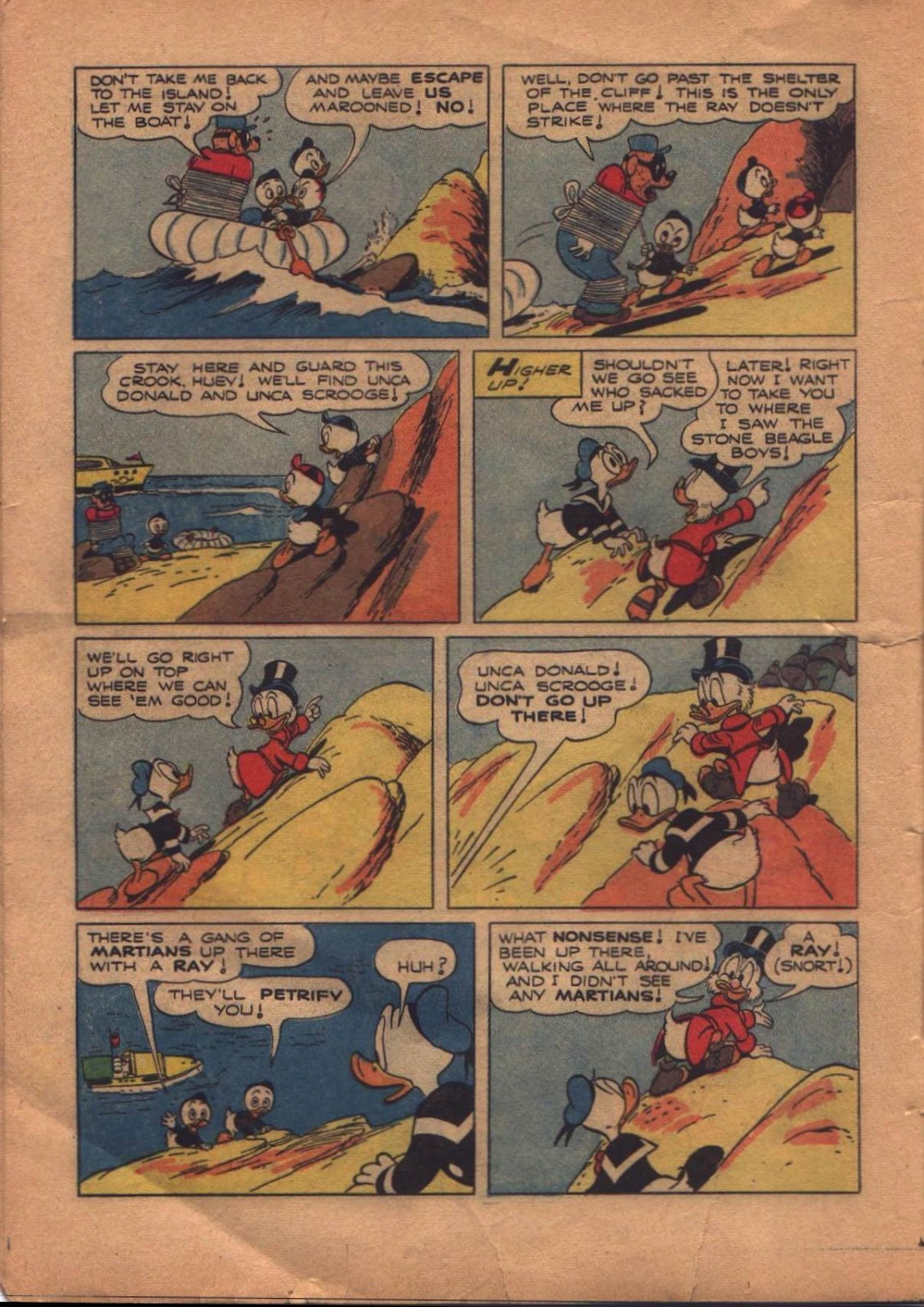 Uncle Scrooge (1953) Issue #8 #8 - English 16