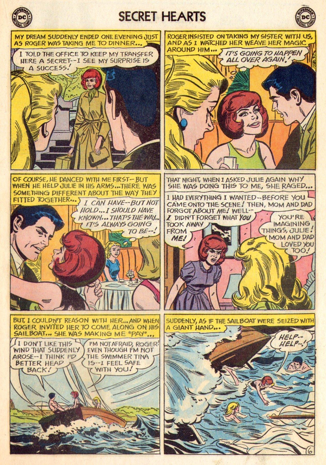 Read online Secret Hearts comic -  Issue #84 - 23