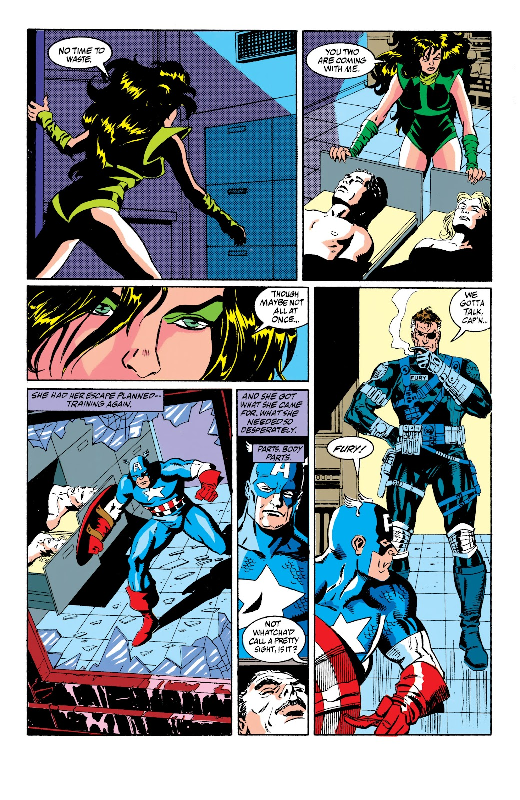 Captain America (1968) _Annual 10 #10 - English 10
