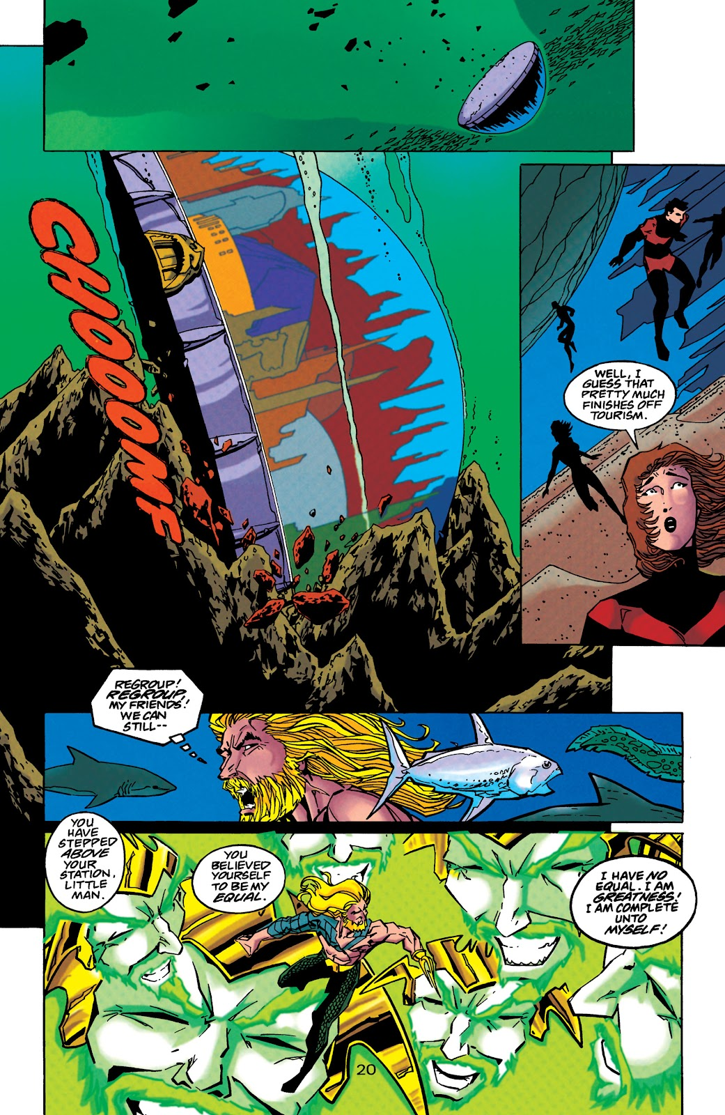 Aquaman (1994) Issue #45 #51 - English 20