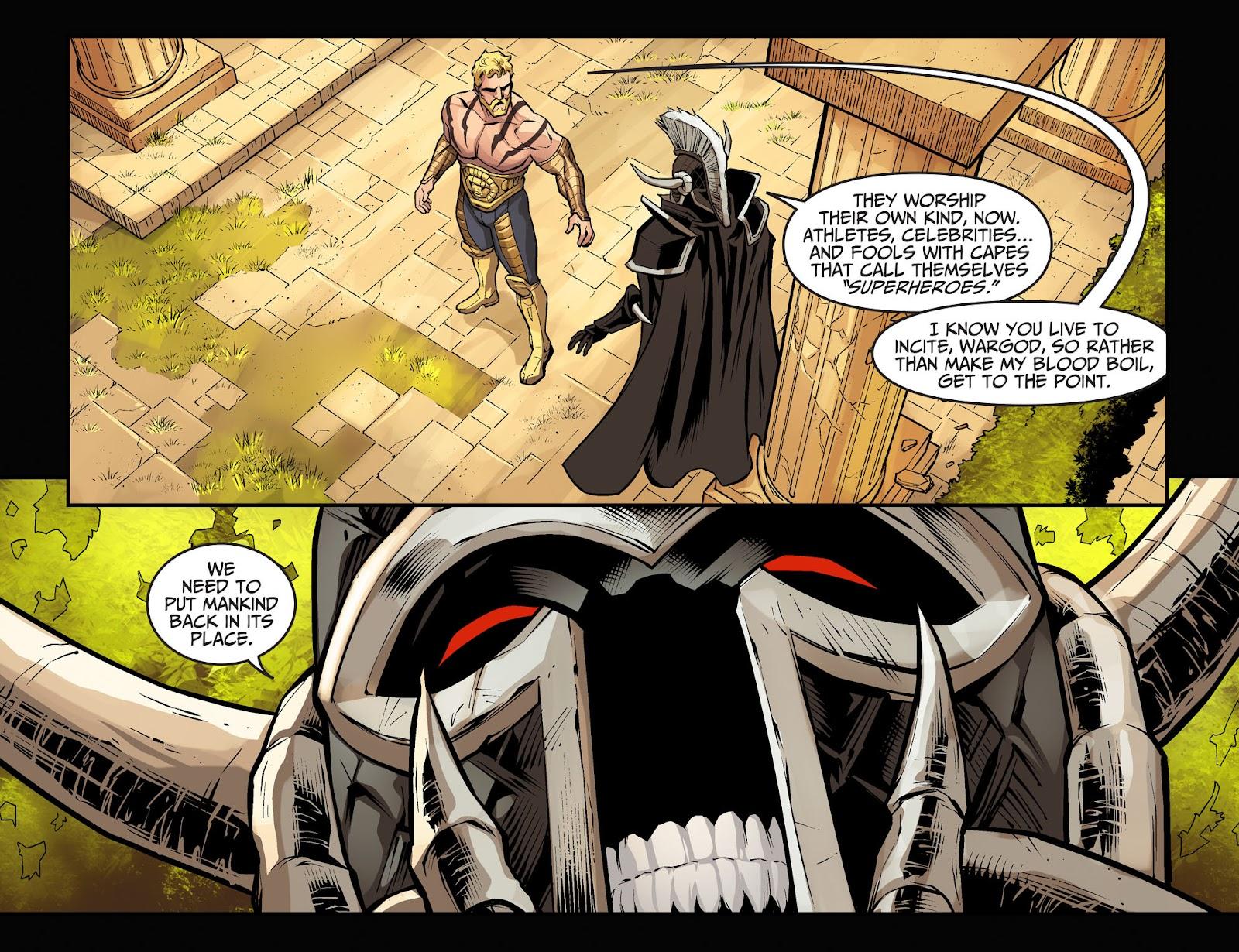 Injustice: Gods Among Us Year Four Issue #1 #2 - English 6