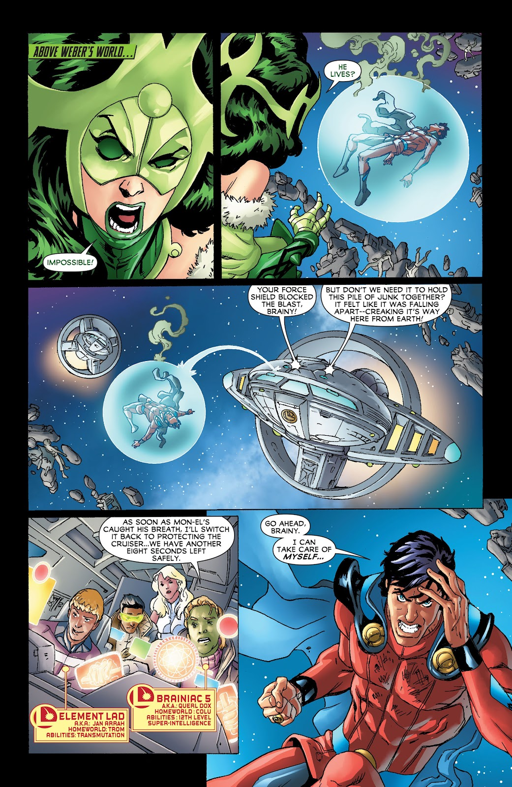 Legion of Super-Heroes (2011) Issue #19 #20 - English 16