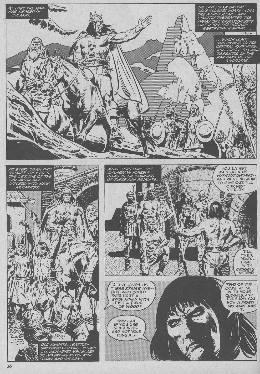 The Savage Sword Of Conan Issue #51 #52 - English 26