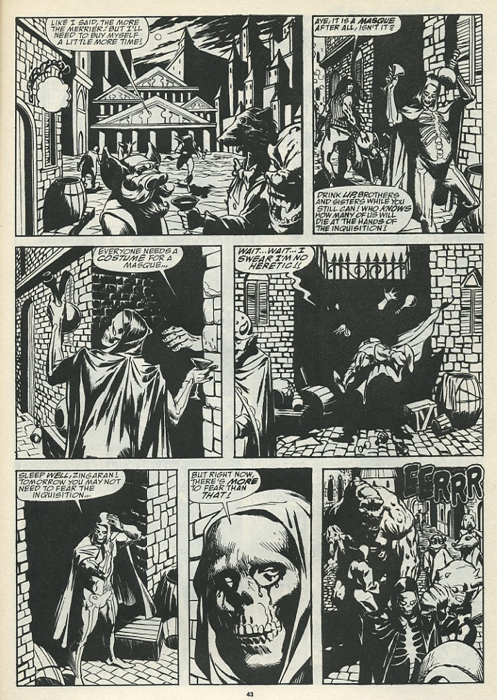 The Savage Sword Of Conan Issue #185 #186 - English 45