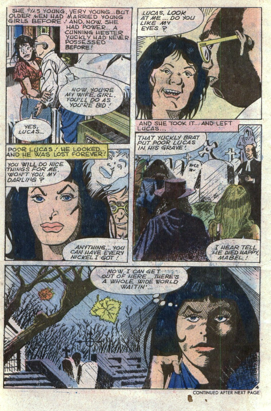 Read online Scary Tales comic -  Issue #5 - 6