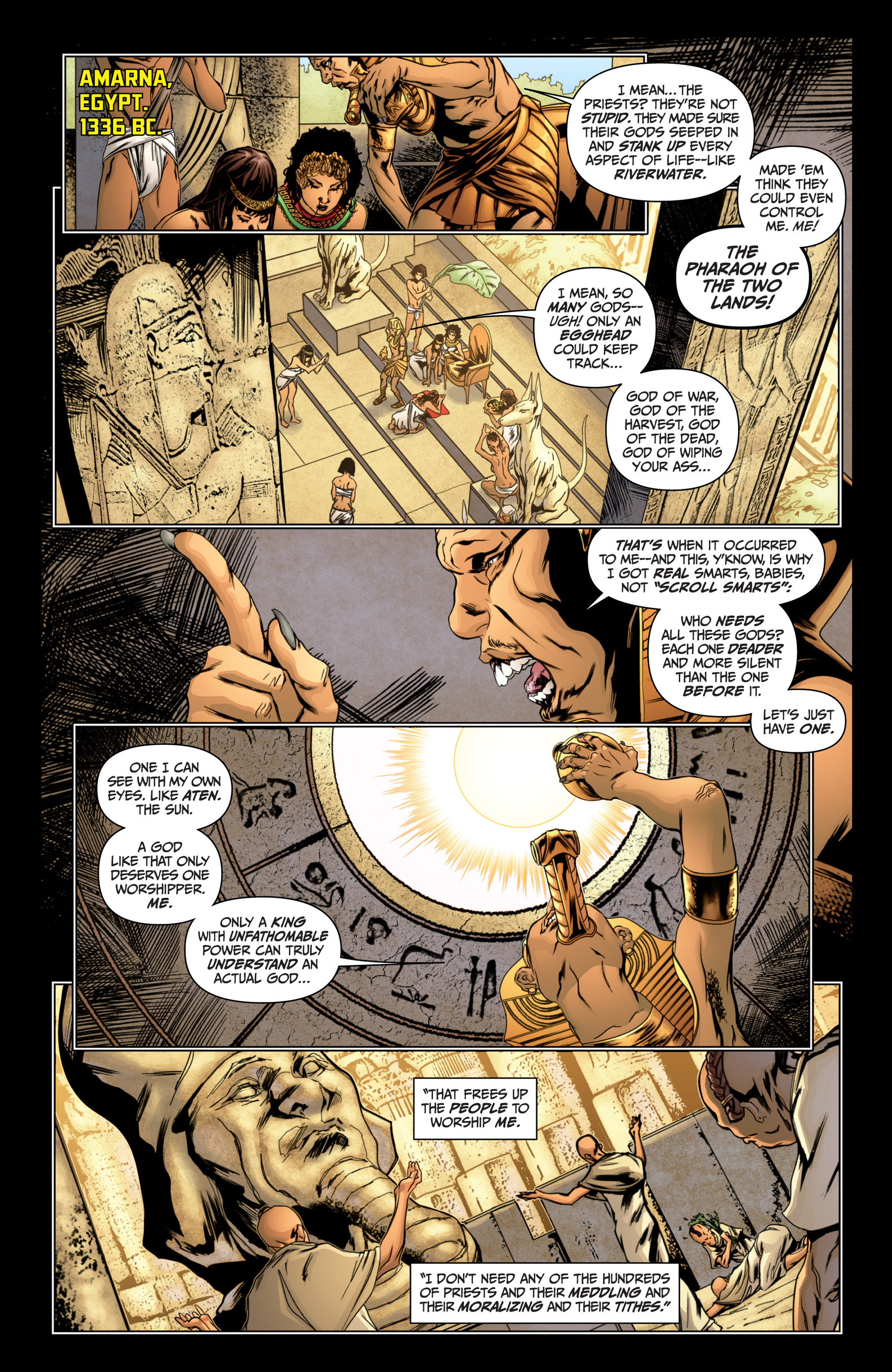 Archer and Armstrong 14 Page 4