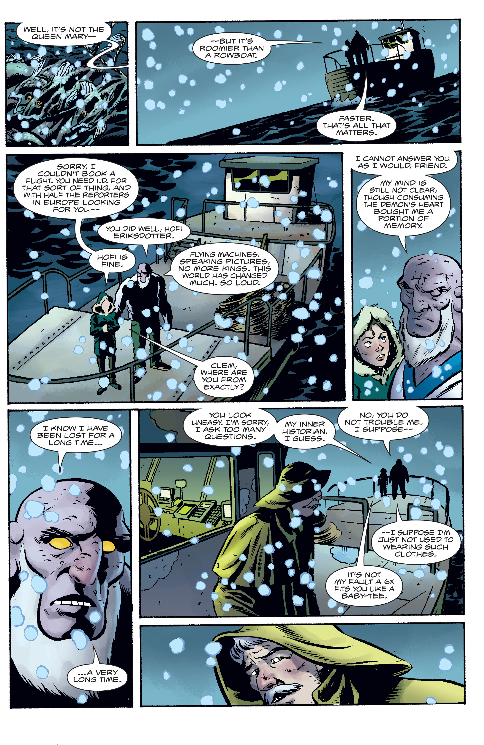 Read online The Anchor comic -  Issue # TPB 1 - 34