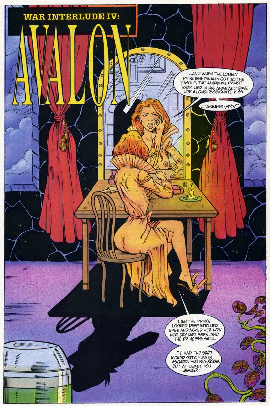 Read online Elementals Sex Special comic -  Issue #4 - 13