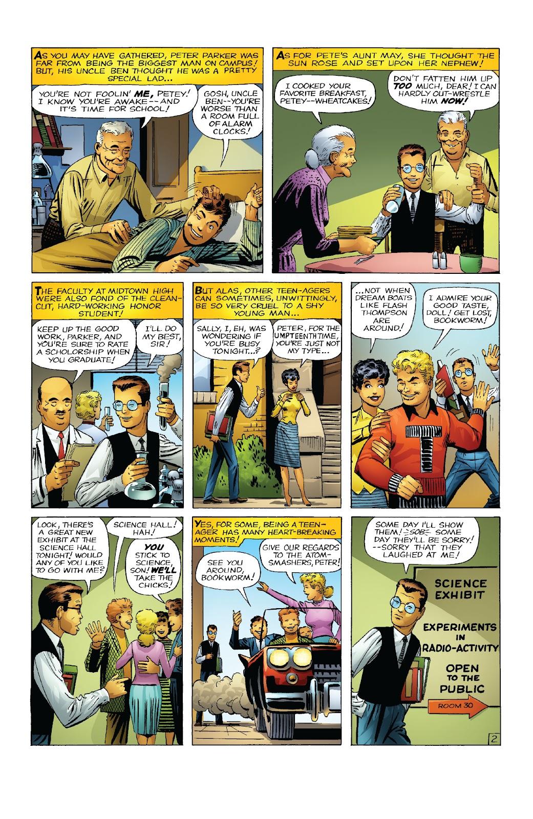 Amazing Fantasy #15: Spider-Man! Full #1 - English 4