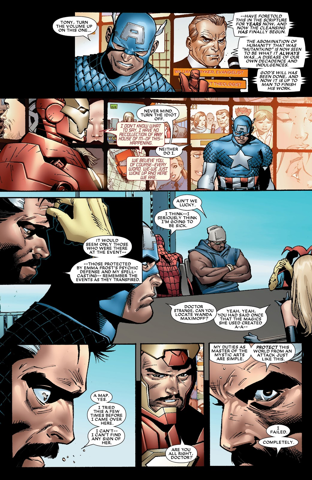 House of M (2005) Issue #8 #8 - English 17