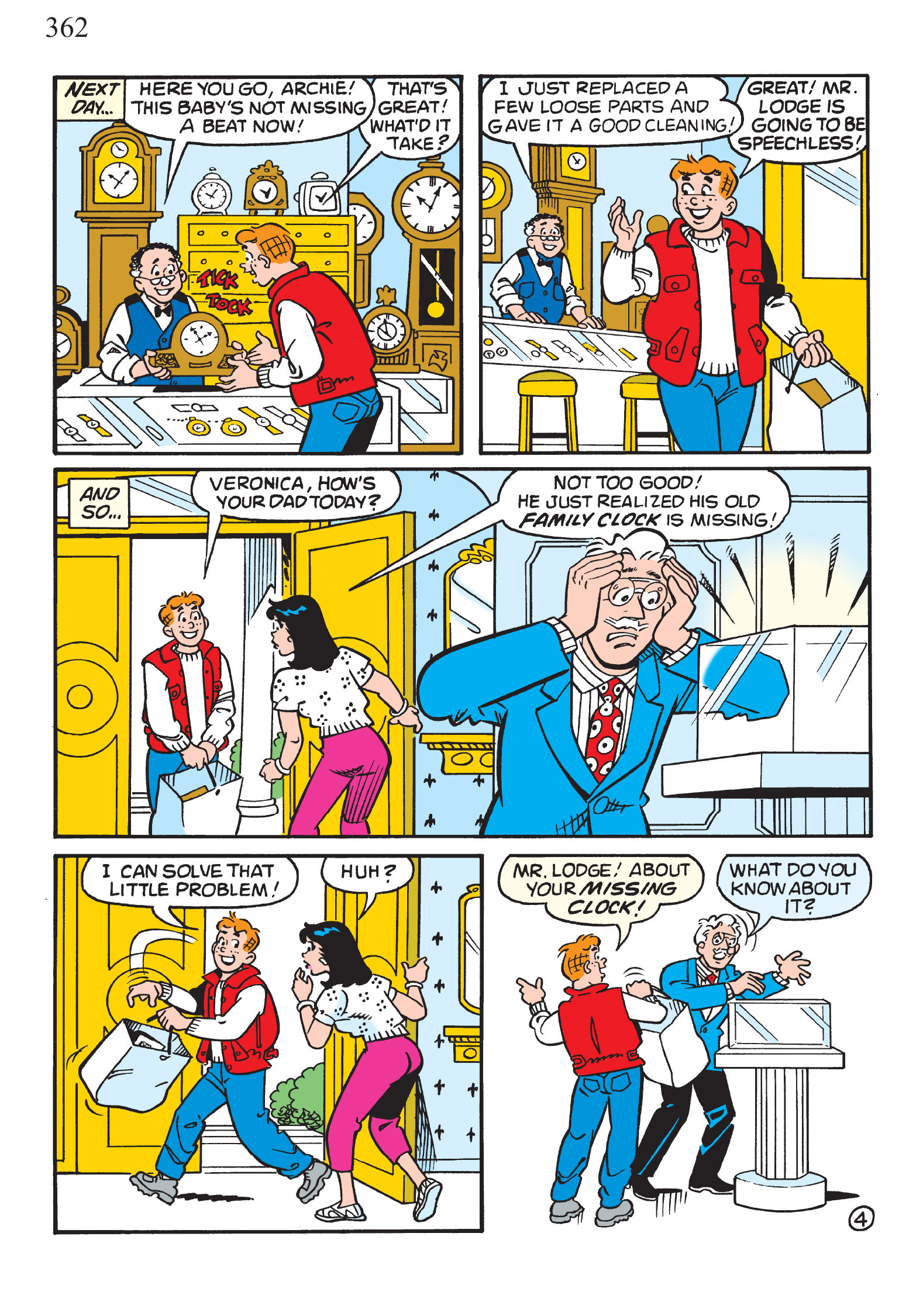 Read online The Best of Archie Comics comic -  Issue # TPB 1 (Part 2) - 132