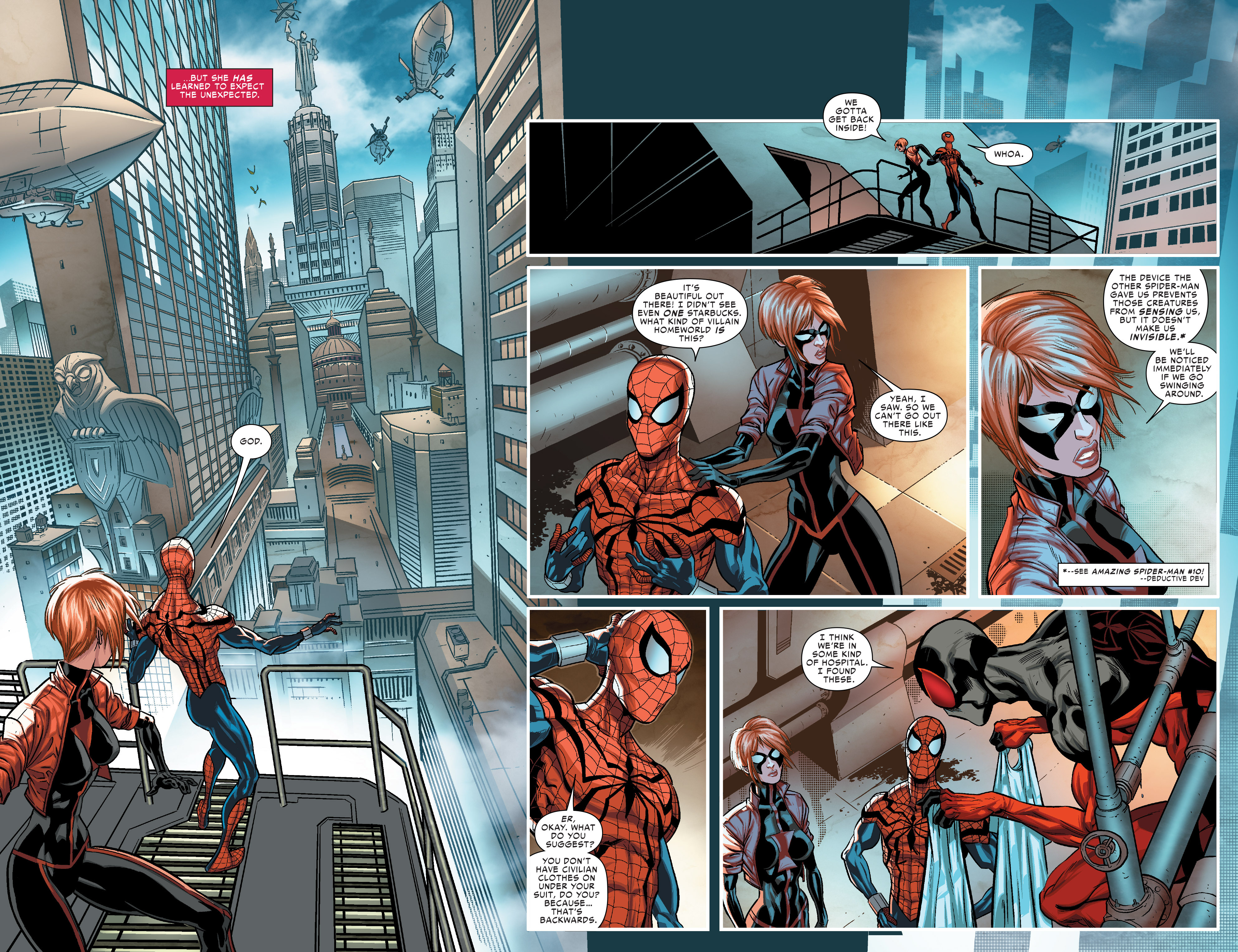 Read online Scarlet Spiders comic -  Issue #1 - 4
