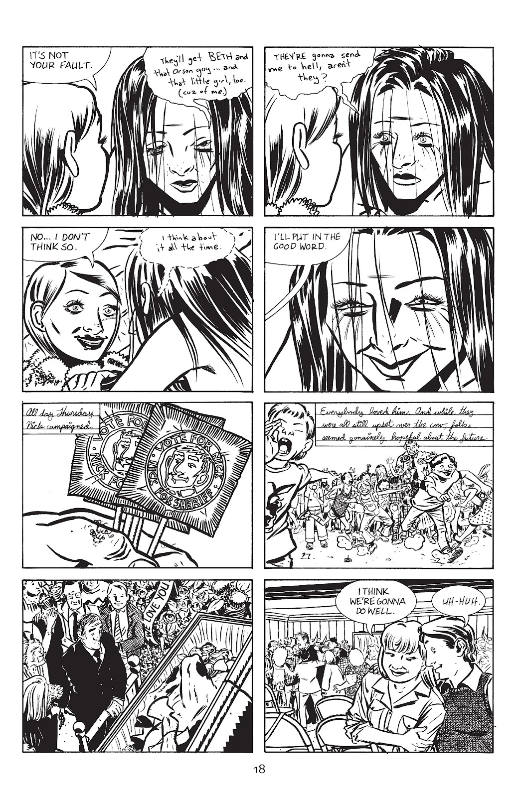 Stray Bullets Issue #13 #13 - English 20