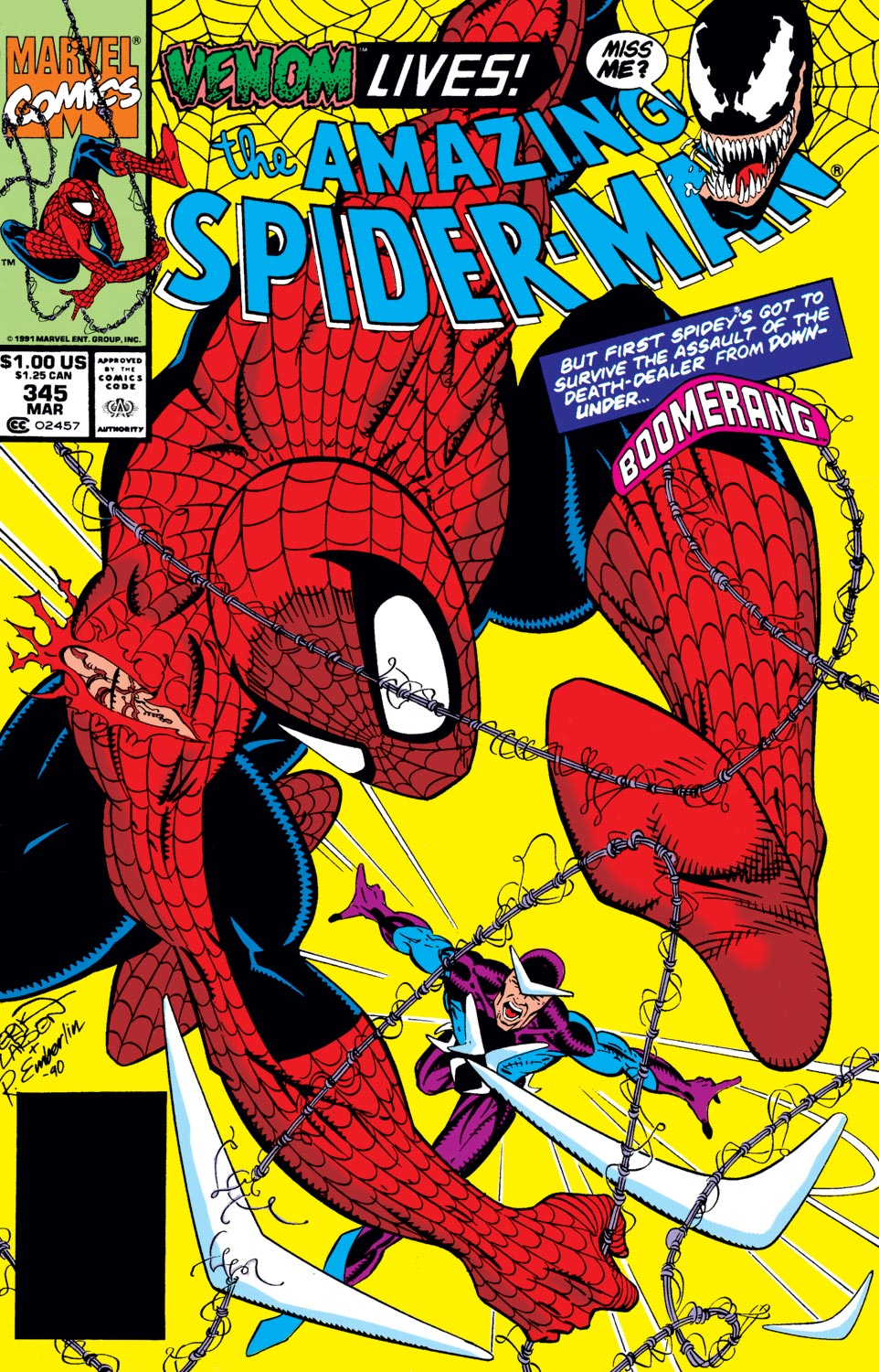 The Amazing Spider-Man (1963) 345 Page 1