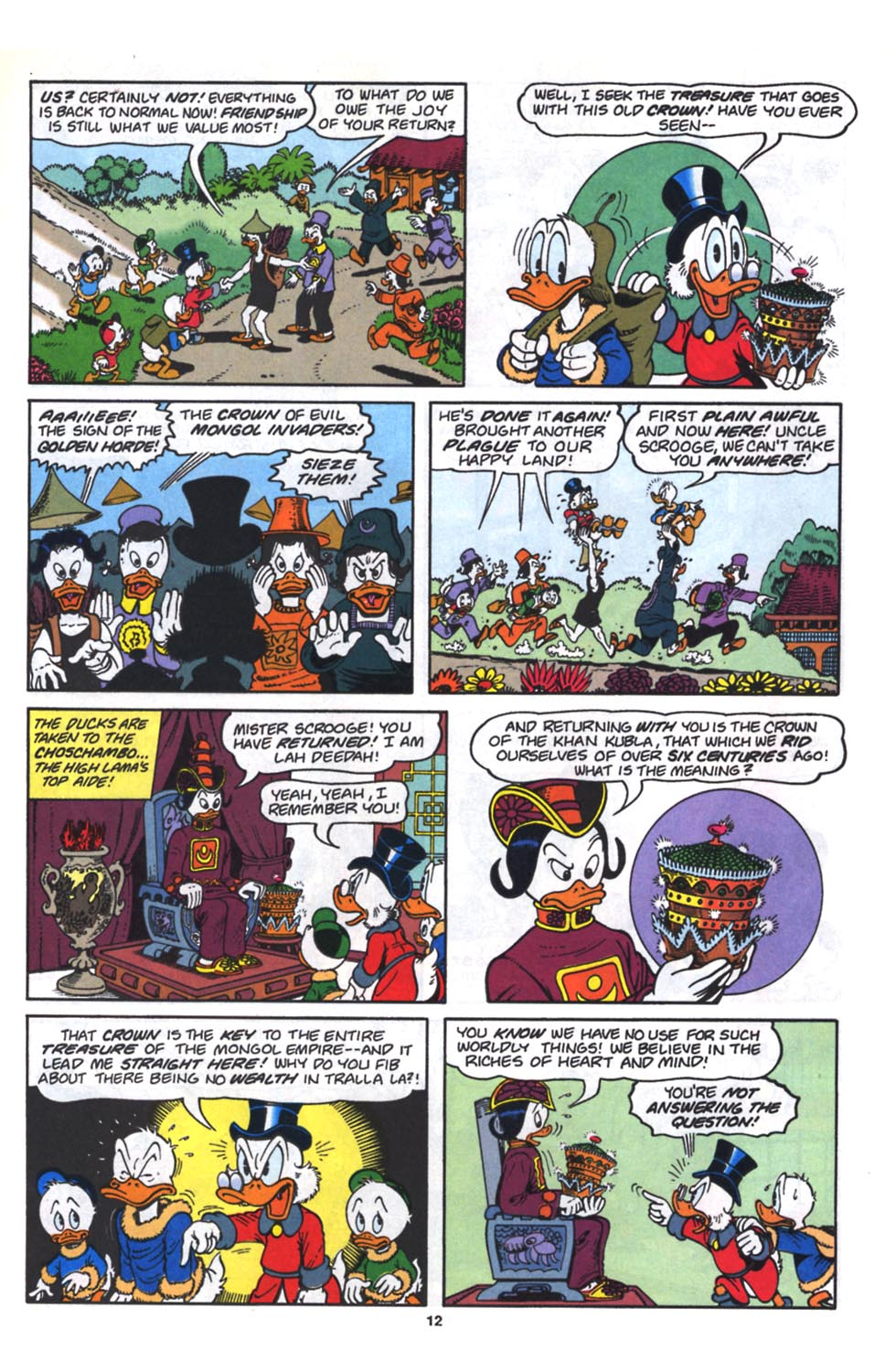 Uncle Scrooge (1953) Issue #261 #261 - English 14