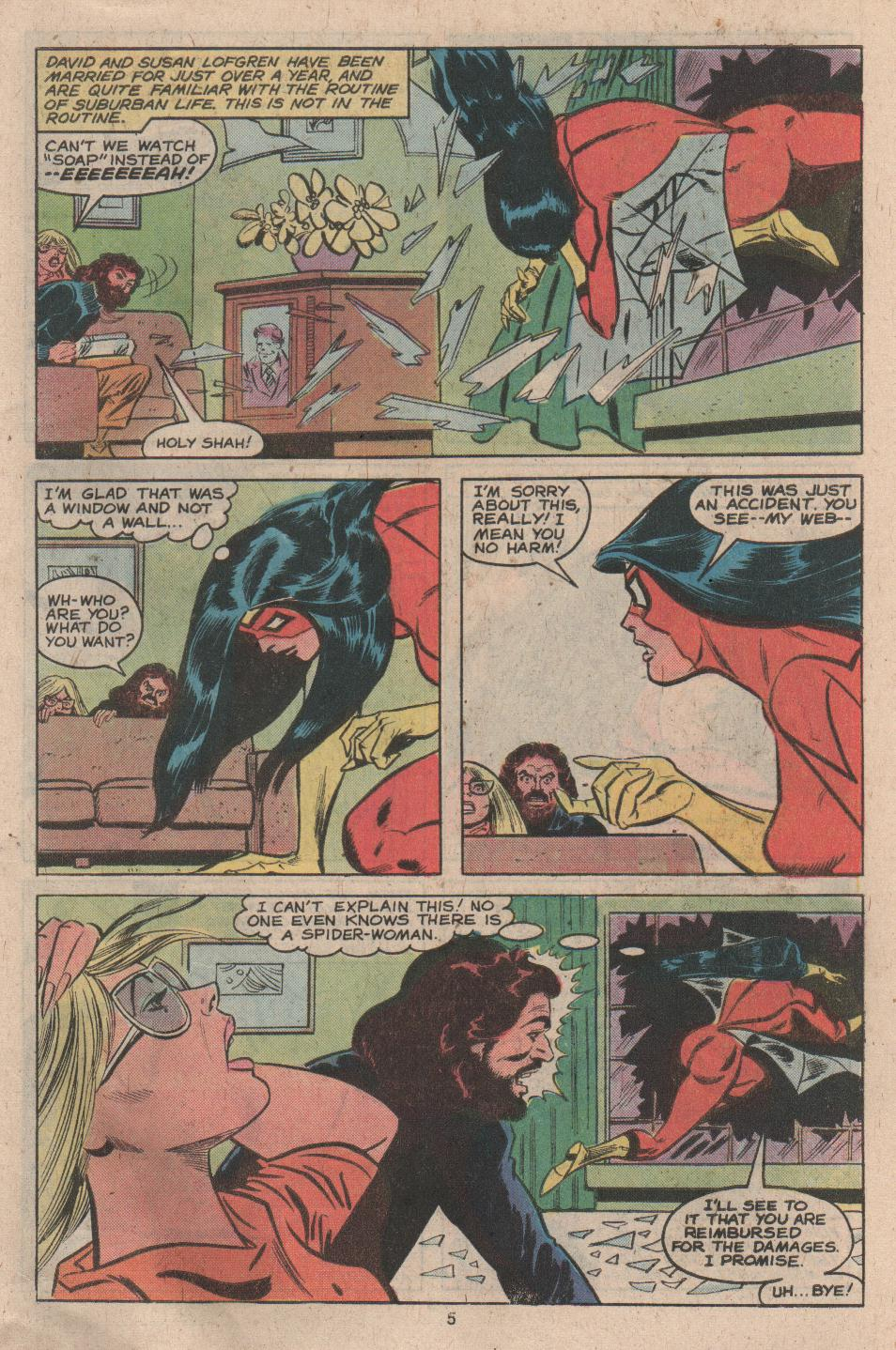 Spider-Woman (1978) #17 #34 - English 5