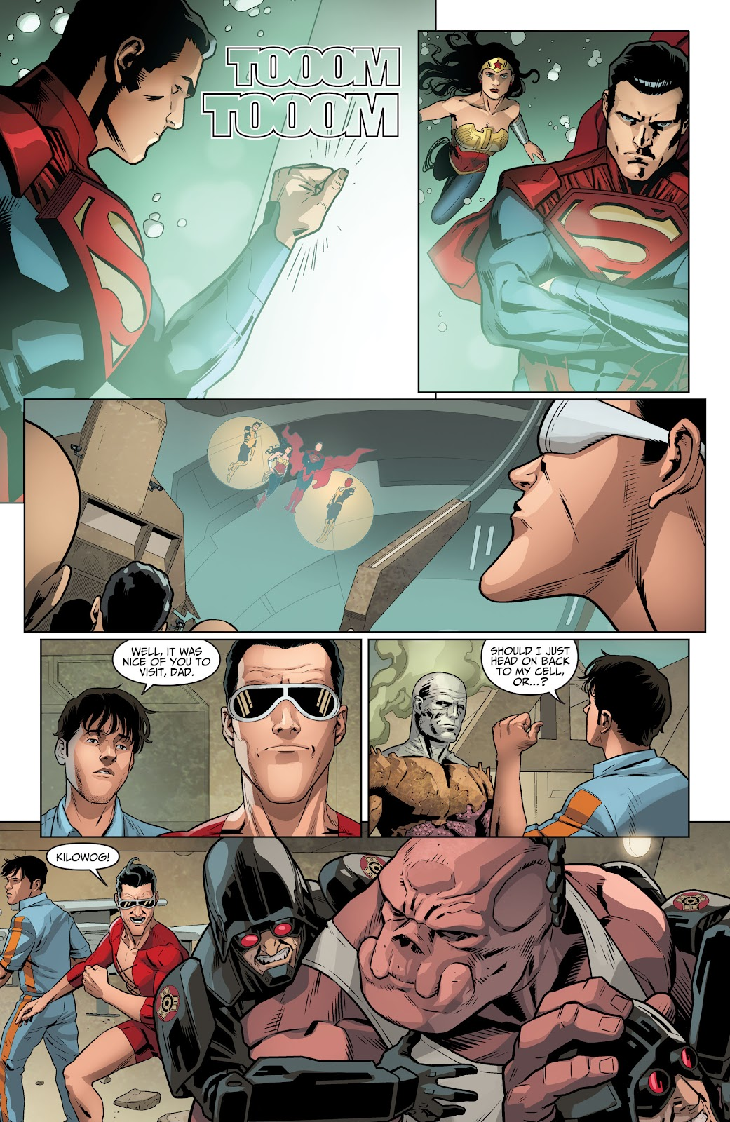Injustice: Gods Among Us Year Four _Annual 1 #1 - English 30