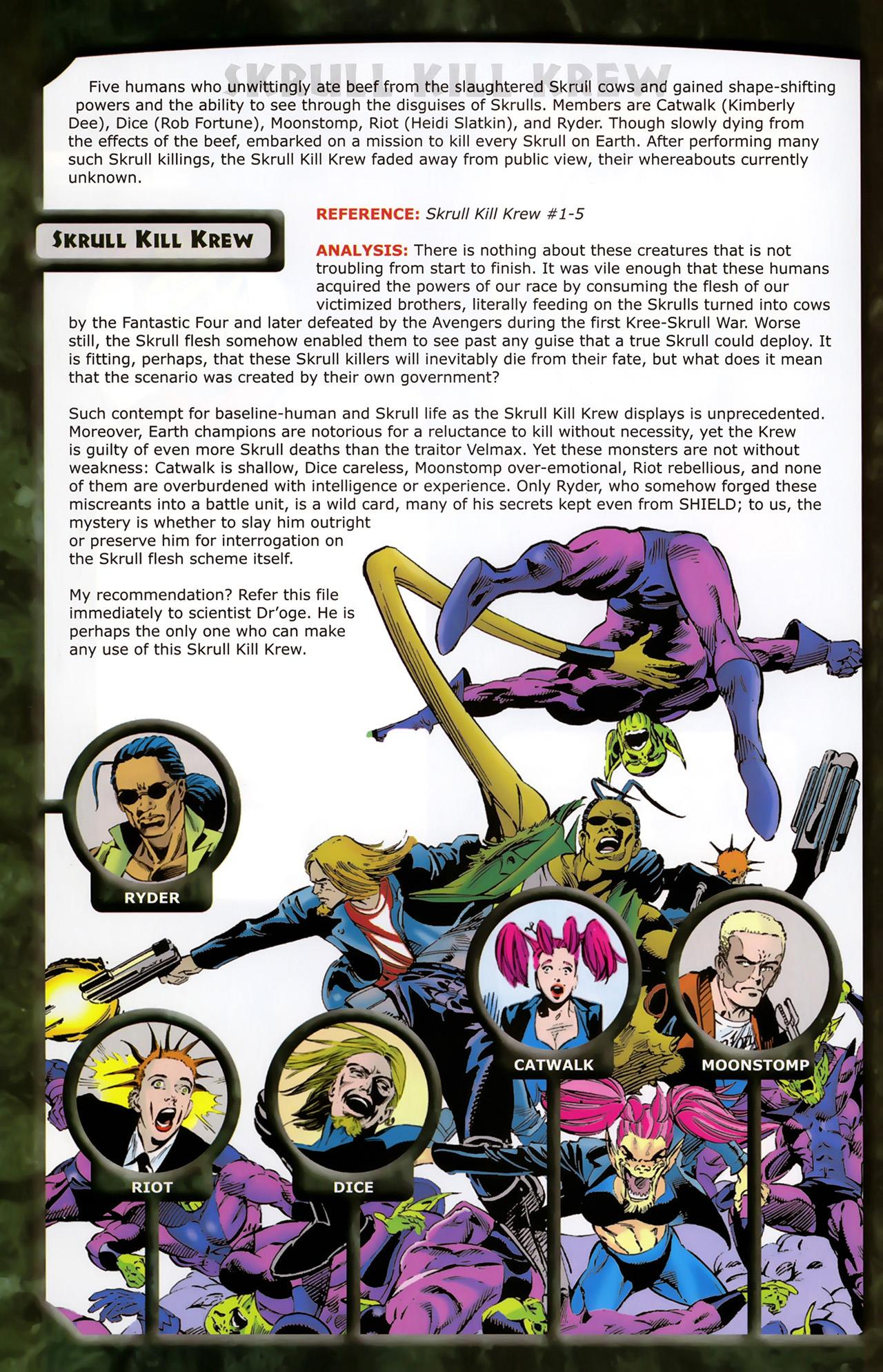 Read online Skrulls! comic -  Issue # Full - 46