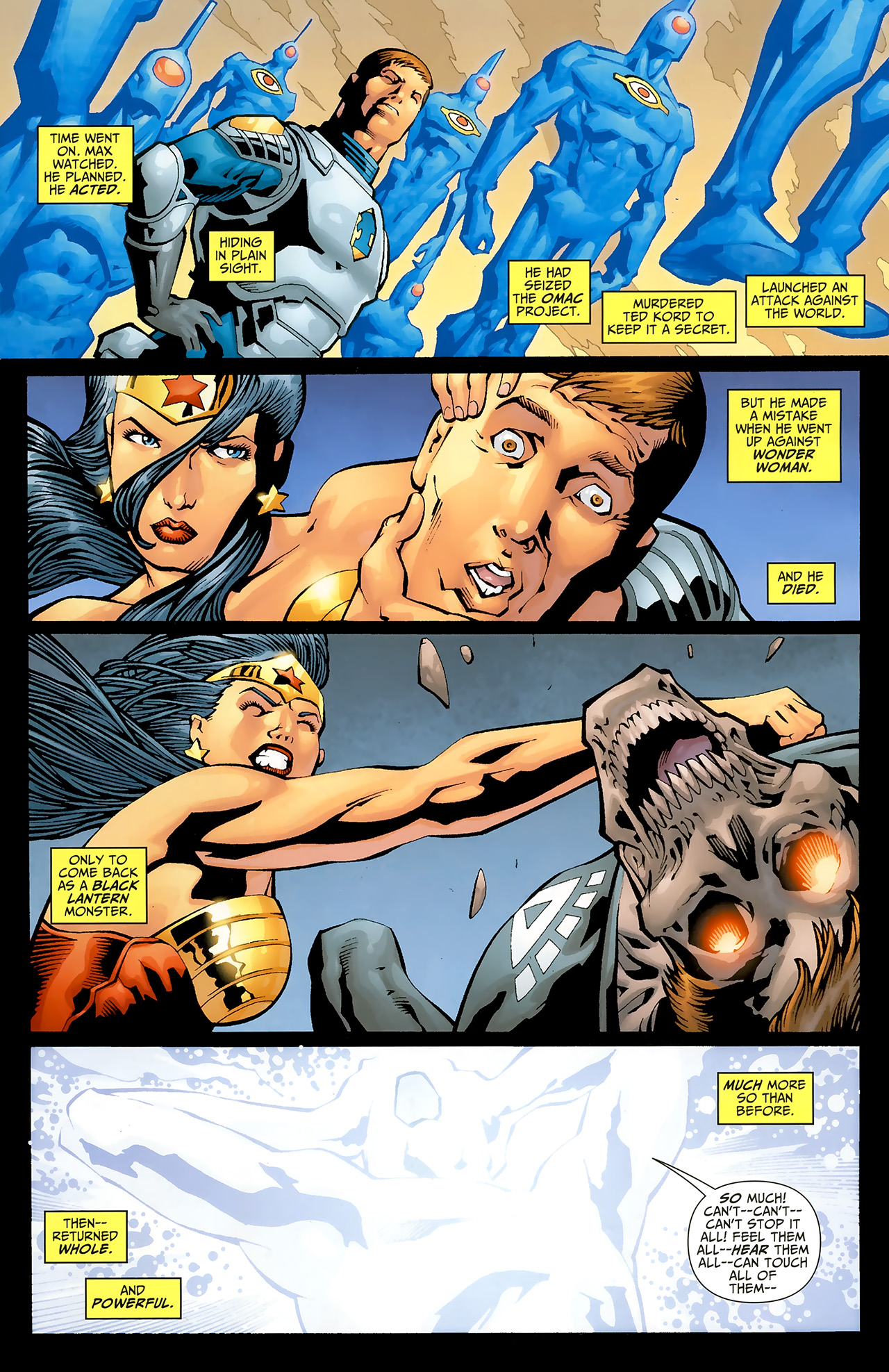 Read online Justice League: Generation Lost comic -  Issue #20 - 17