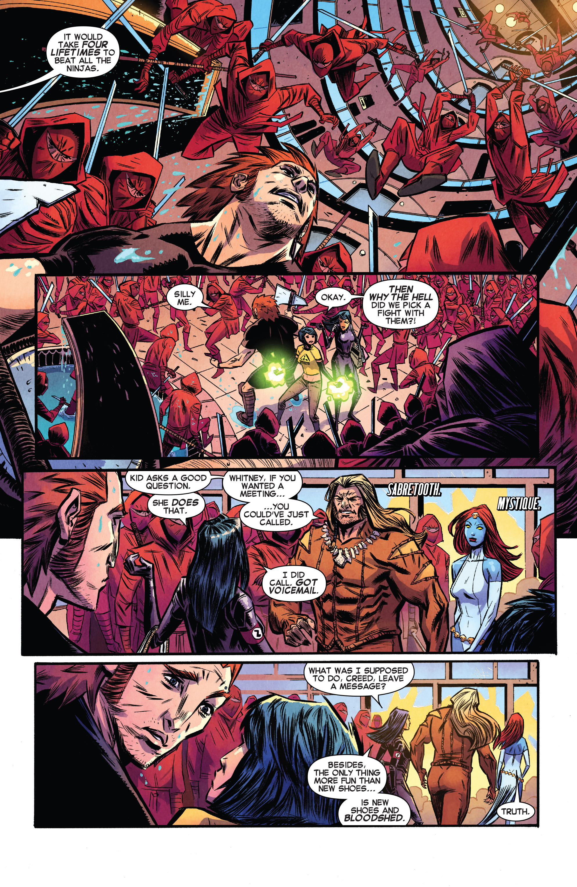 Read online Avengers Undercover comic -  Issue #8 - 6