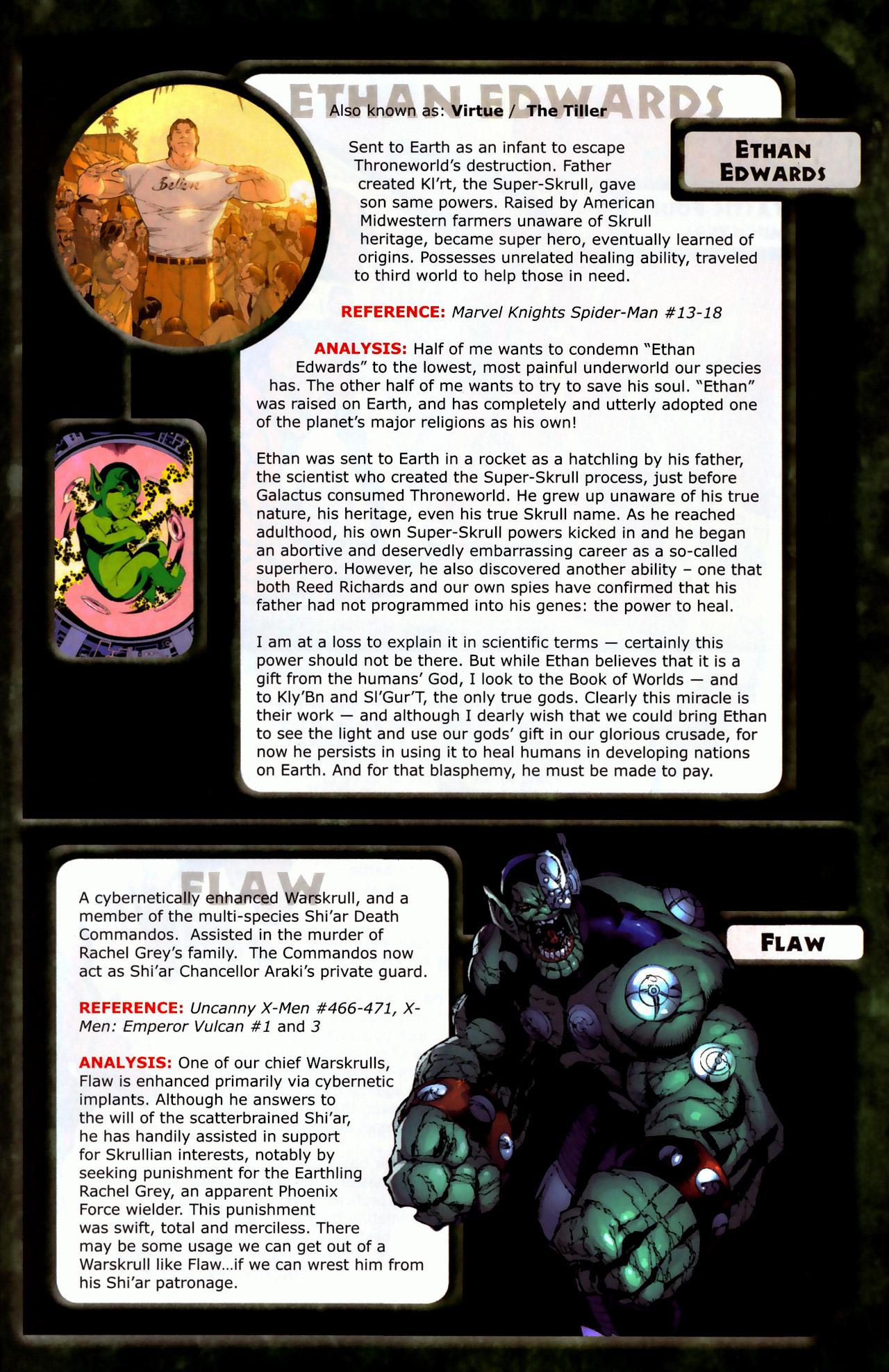 Read online Skrulls! comic -  Issue # Full - 15