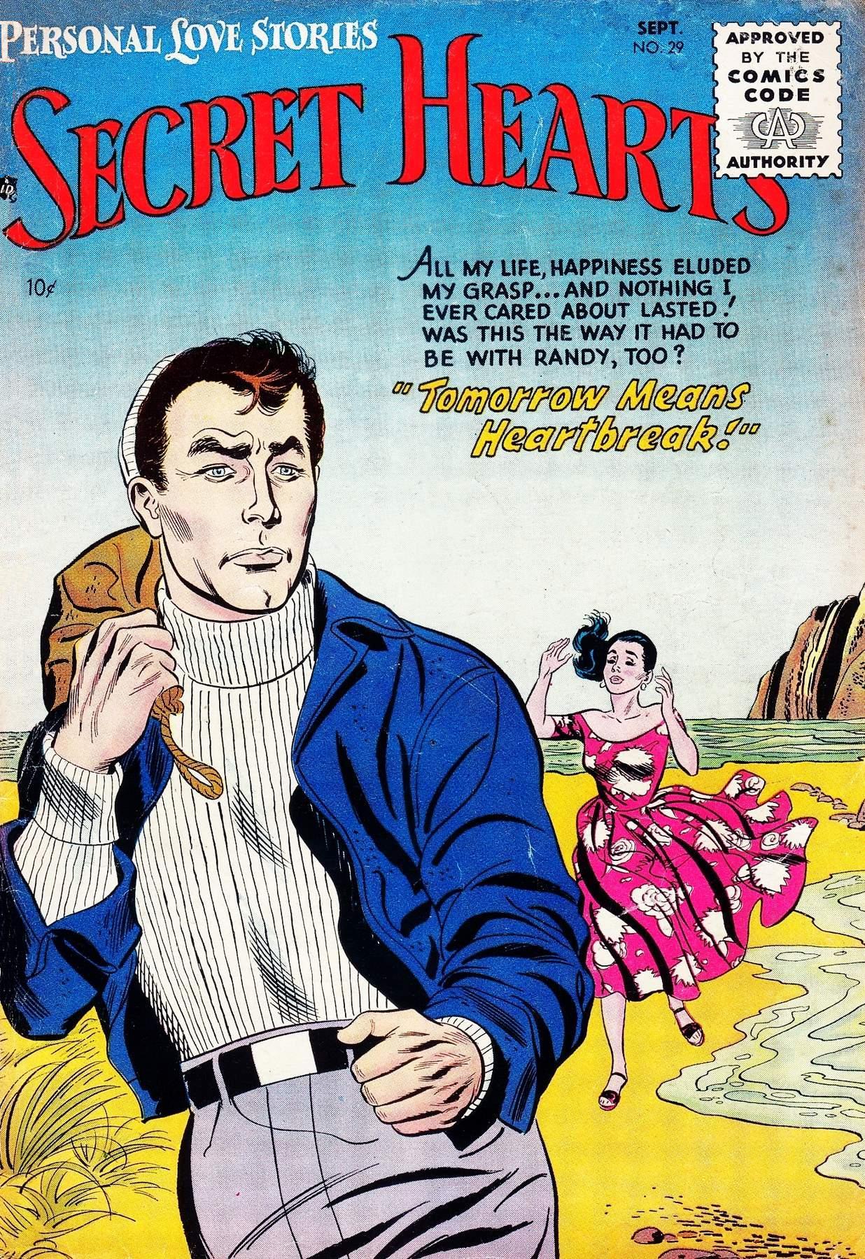Read online Secret Hearts comic -  Issue #29 - 1
