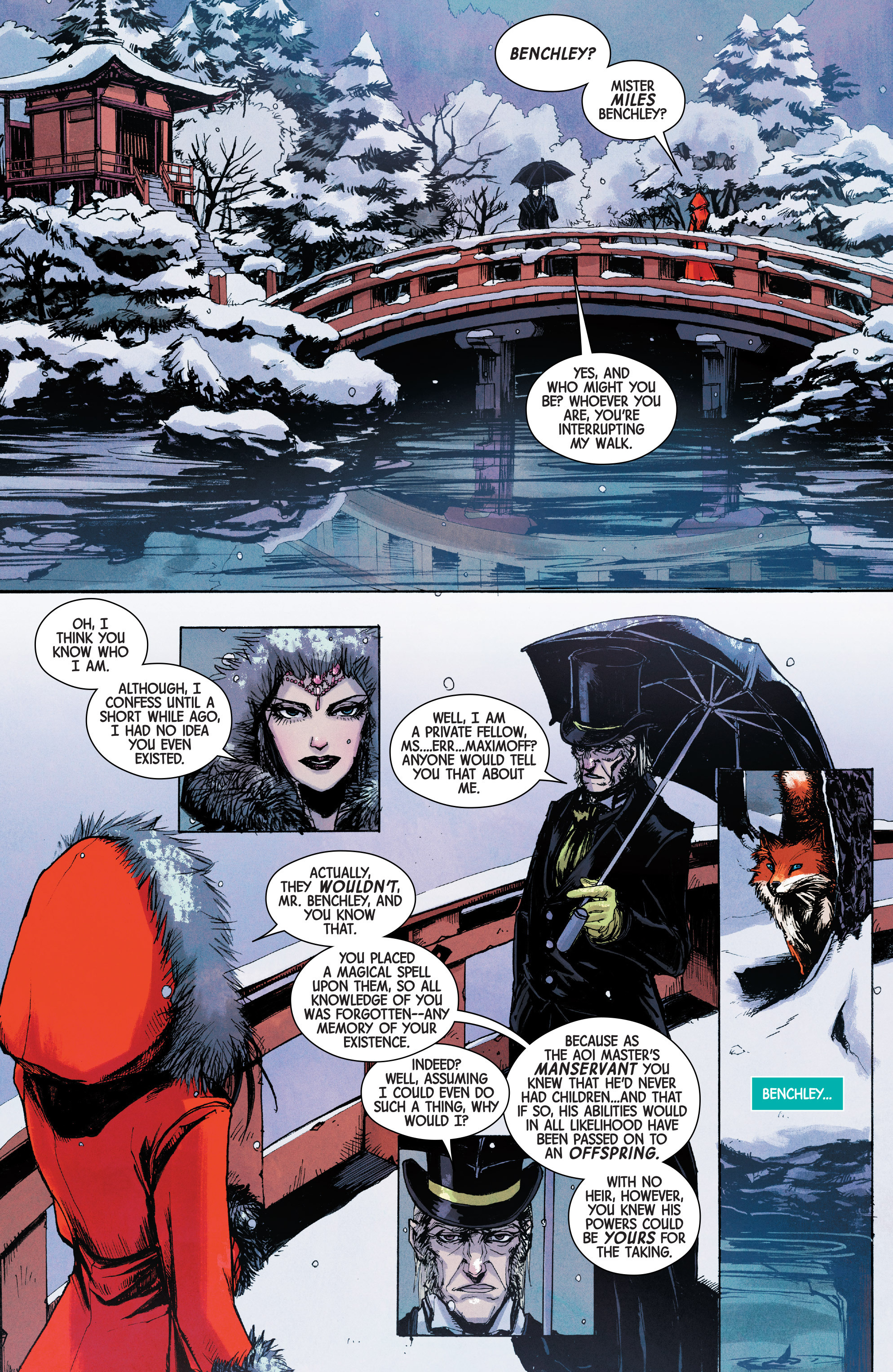 Read online Scarlet Witch (2016) comic -  Issue #10 - 14
